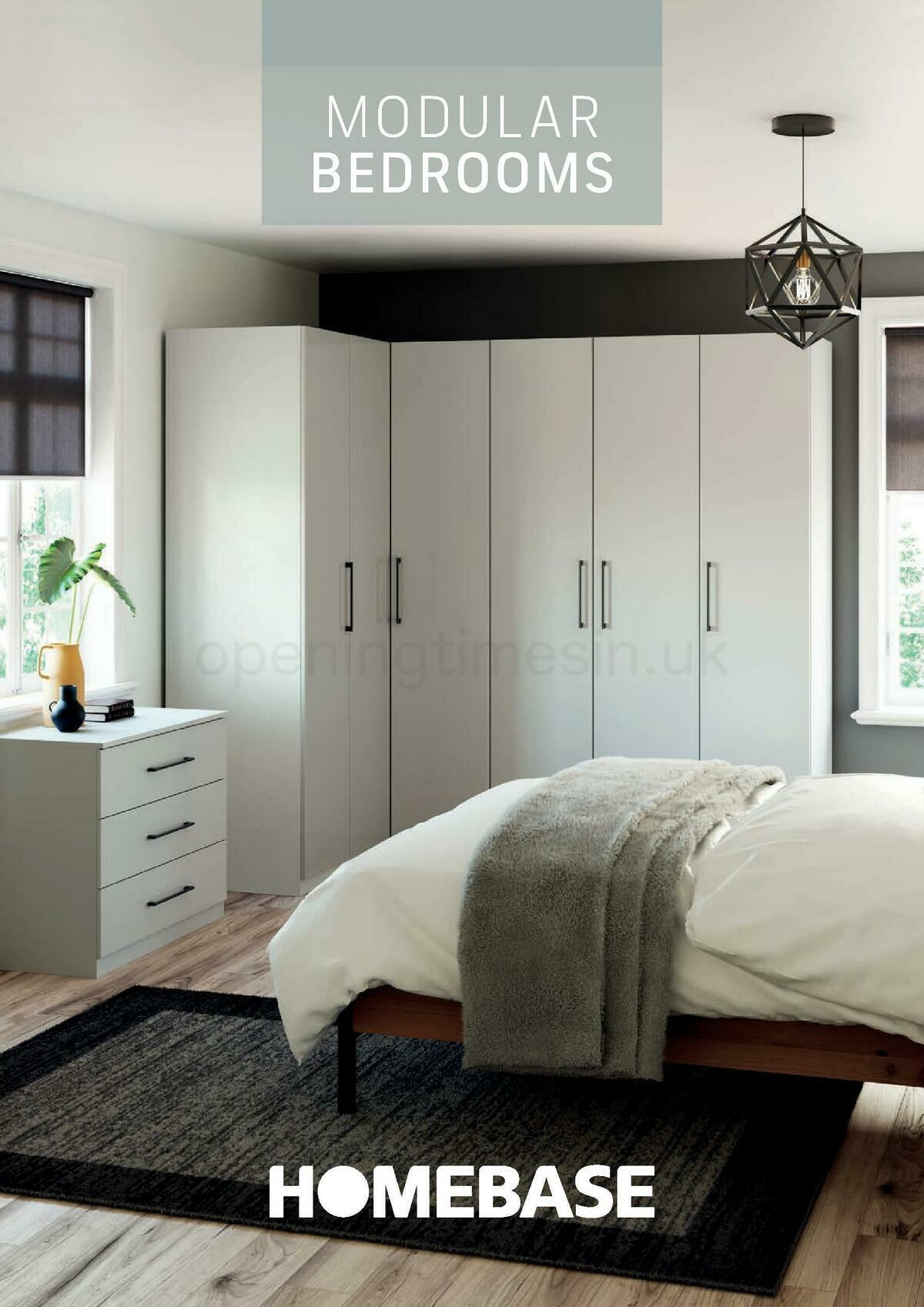 Homebase Modular Bedrooms Brochure Offers from August 1