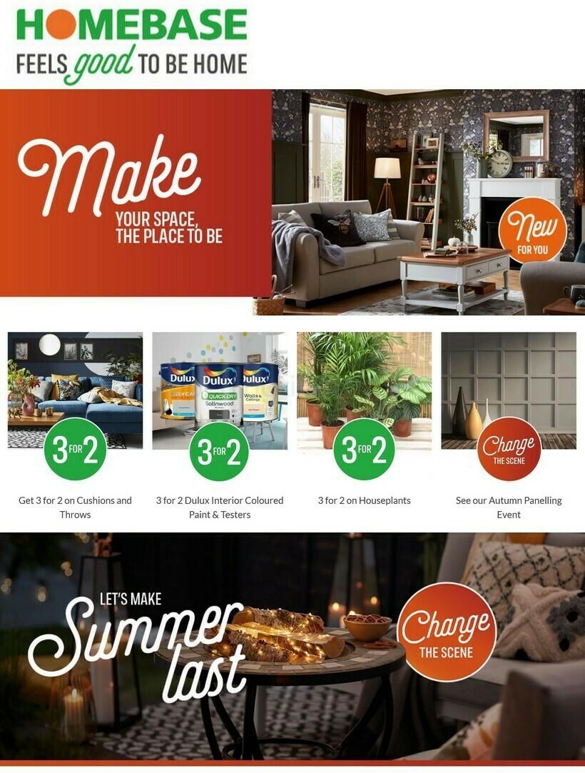 Homebase Offers from September 16