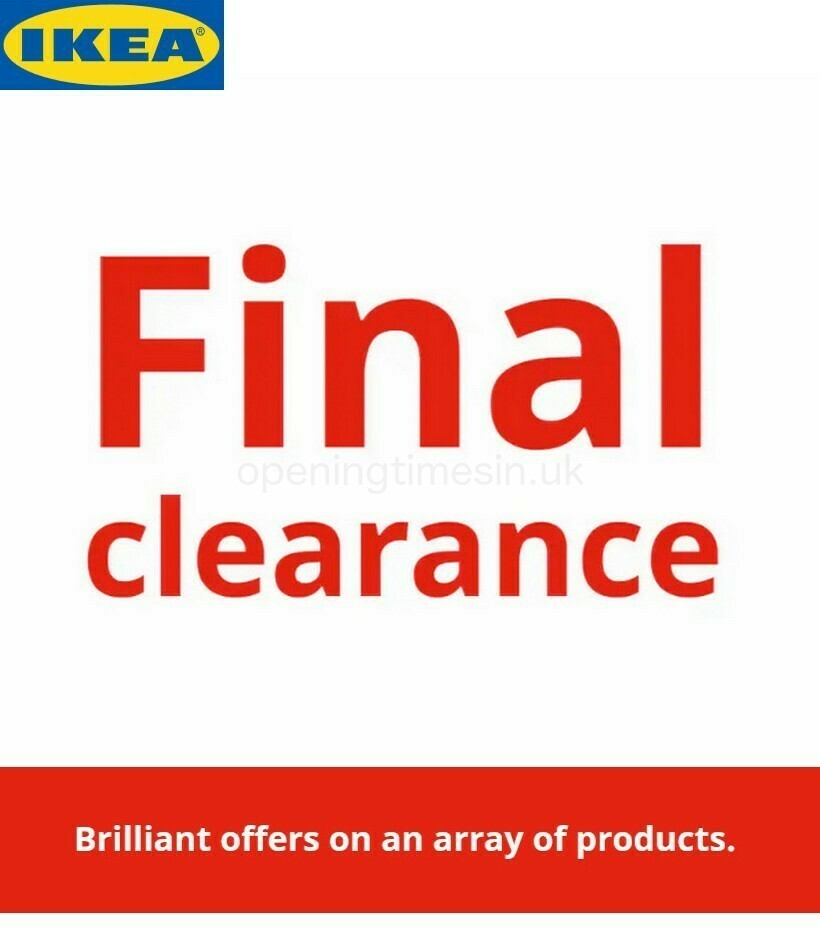 IKEA Offers from January 19