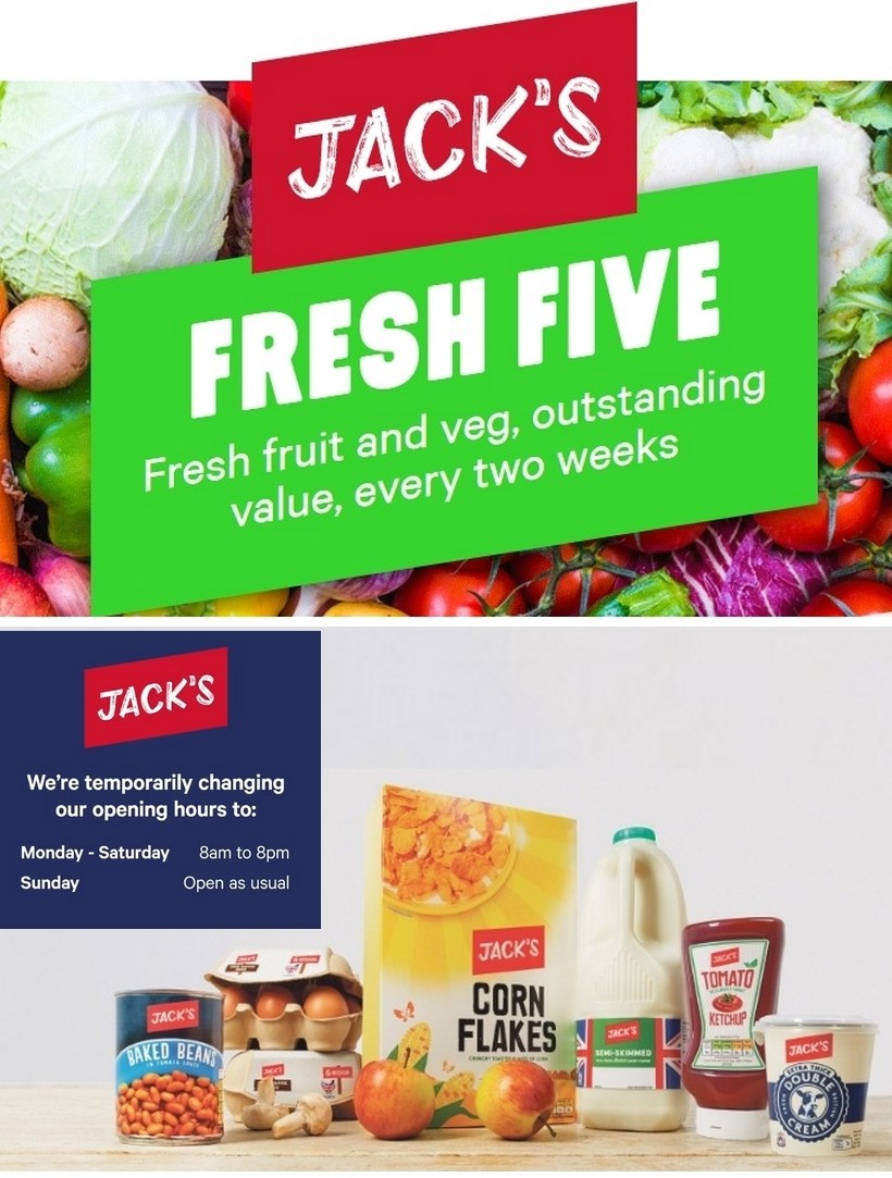 Jack's Offers from March 24