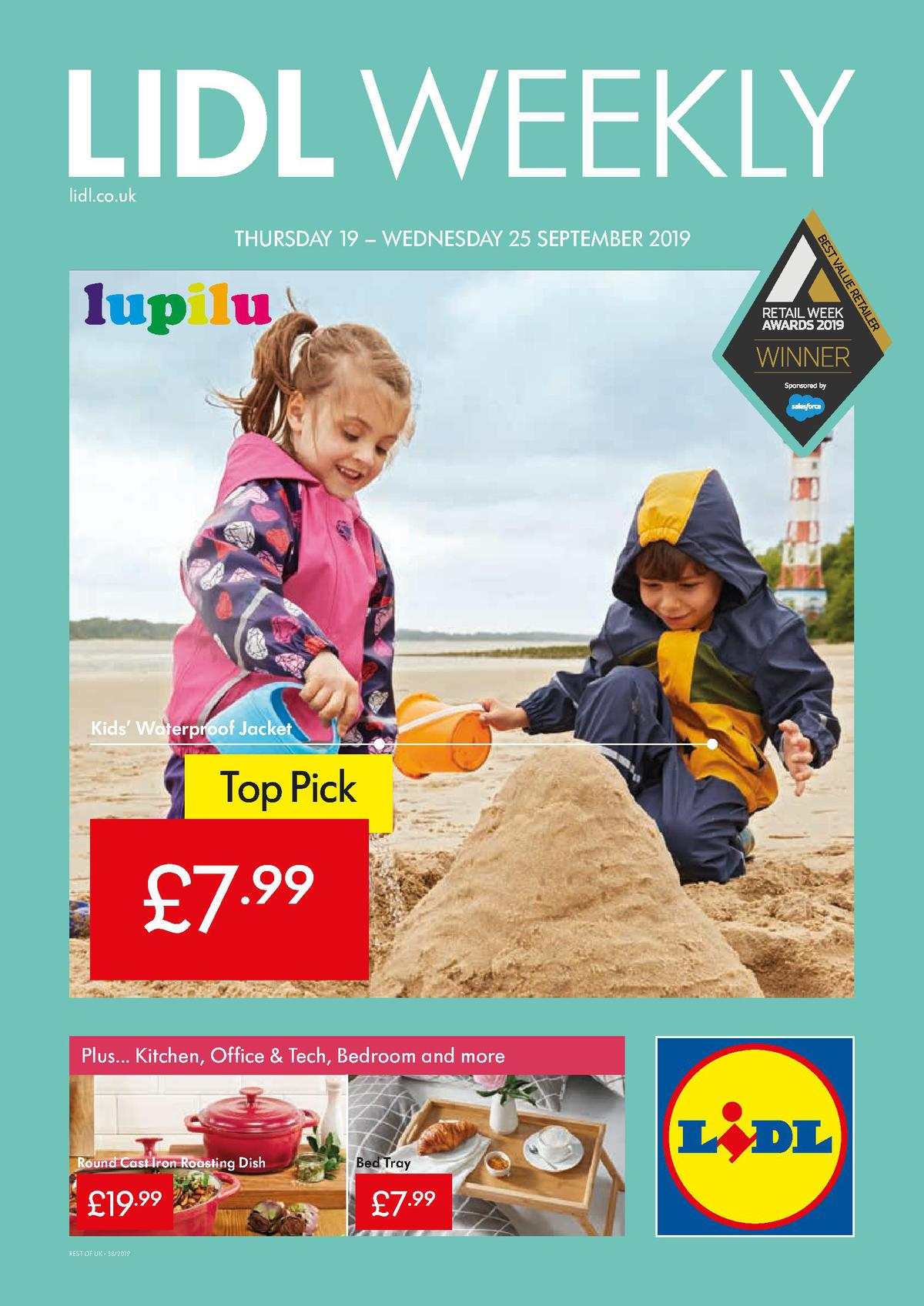 LIDL Offers from September 19