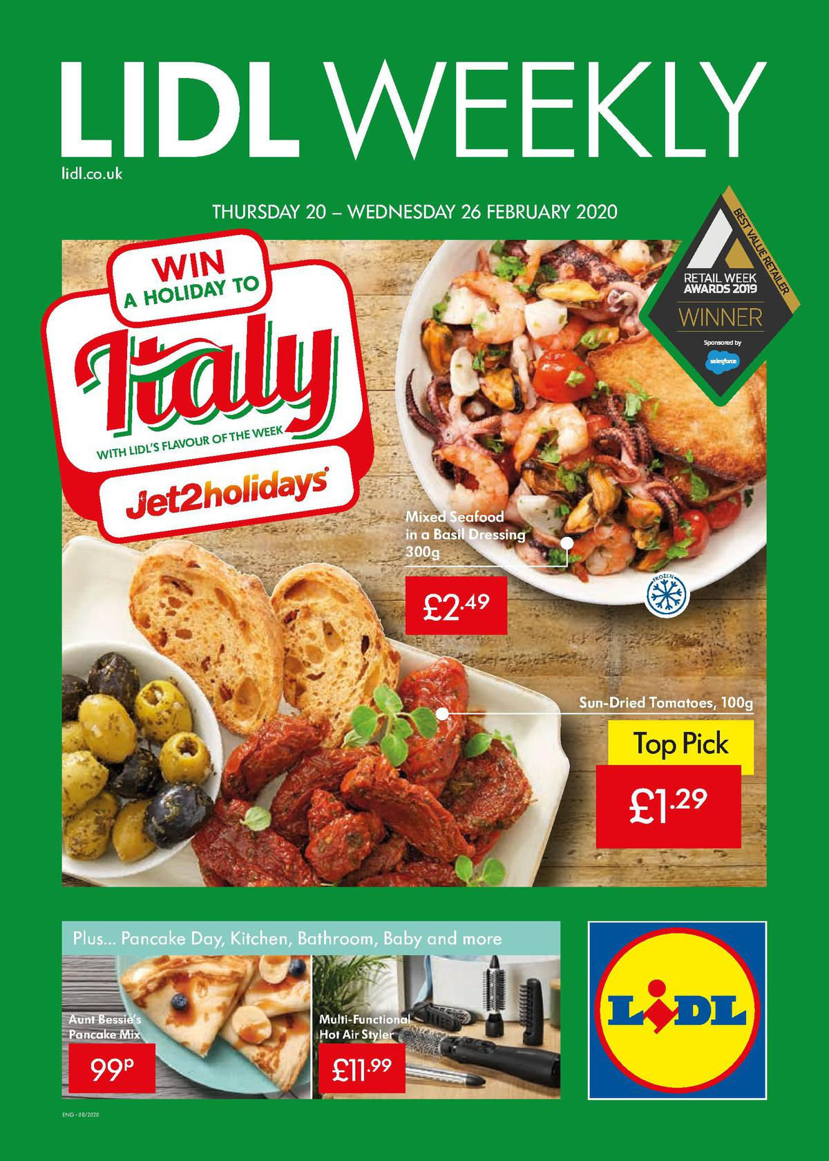 LIDL Offers from February 20