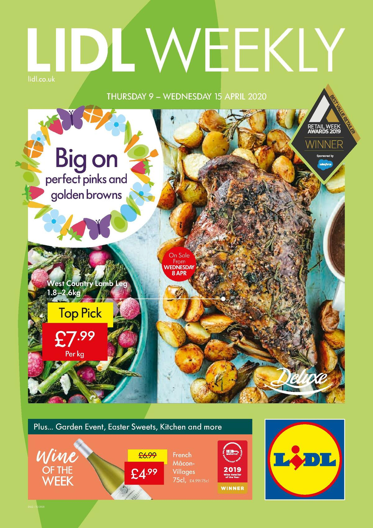 LIDL Offers from April 9