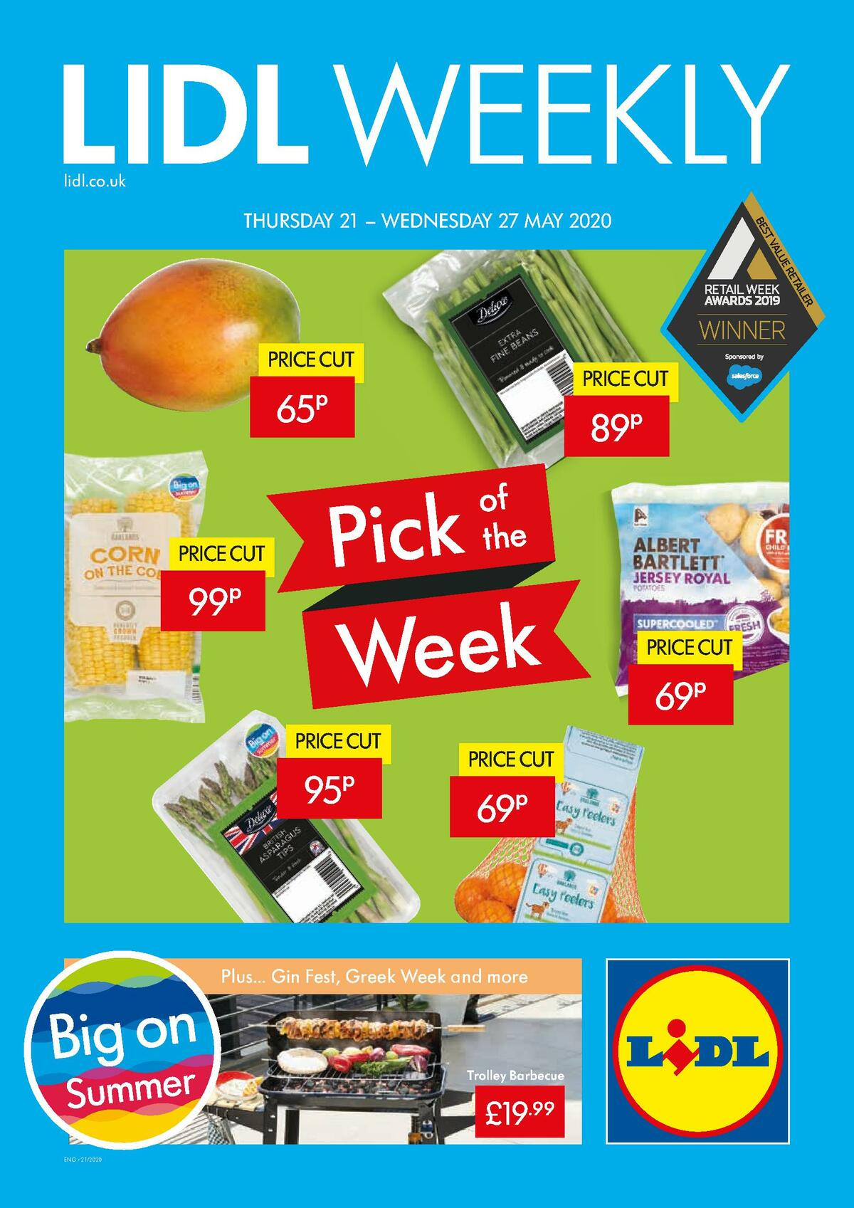 LIDL Offers from May 21