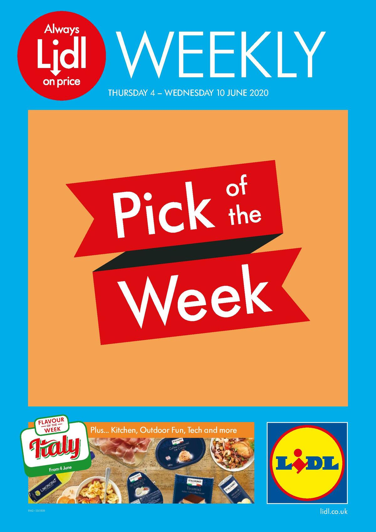 LIDL Offers from June 4