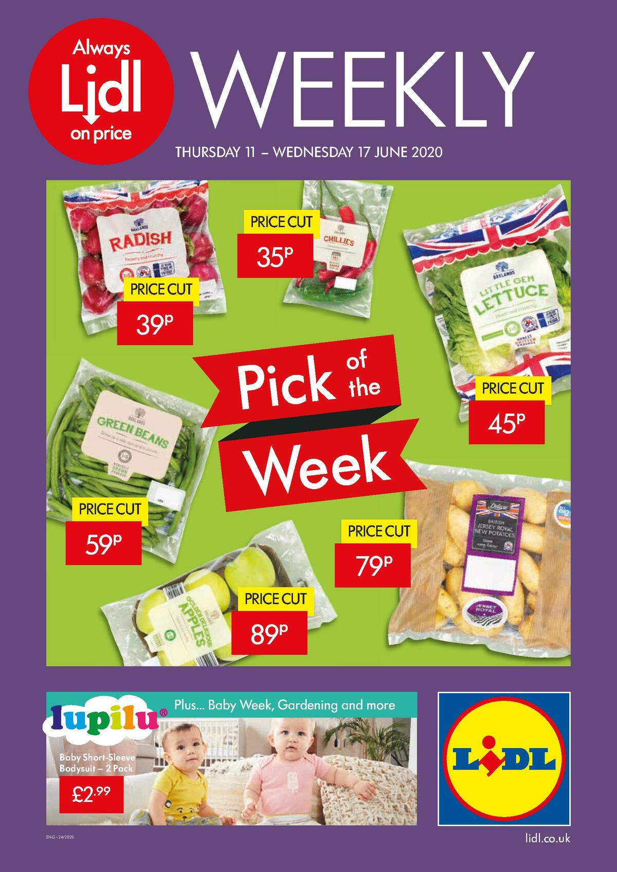 LIDL Offers from June 11
