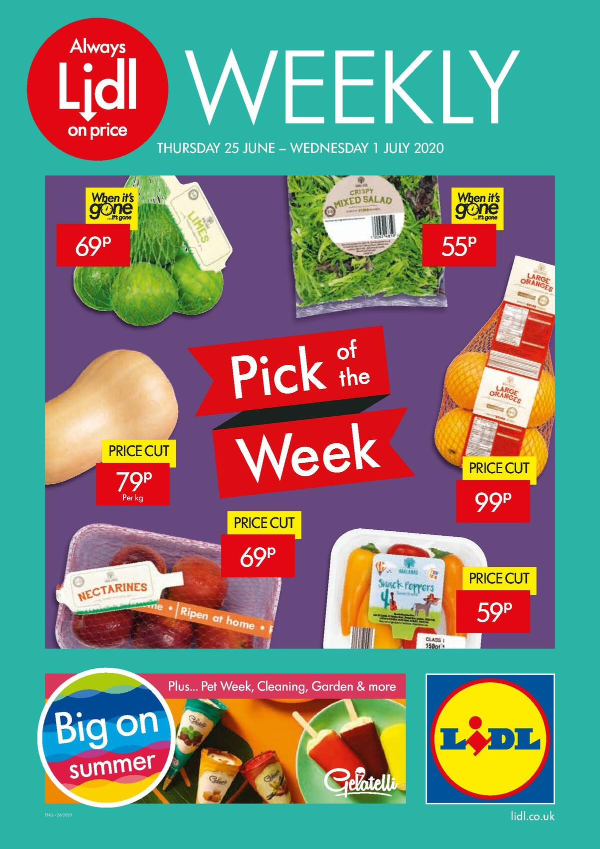 LIDL Offers from June 25