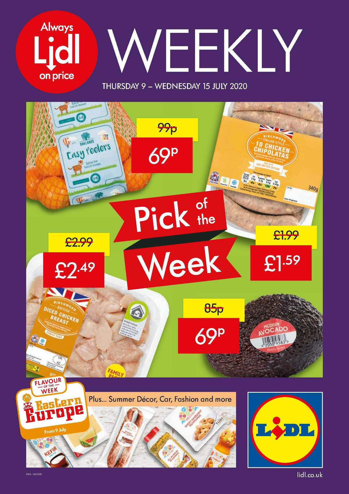 LIDL Offers from July 9