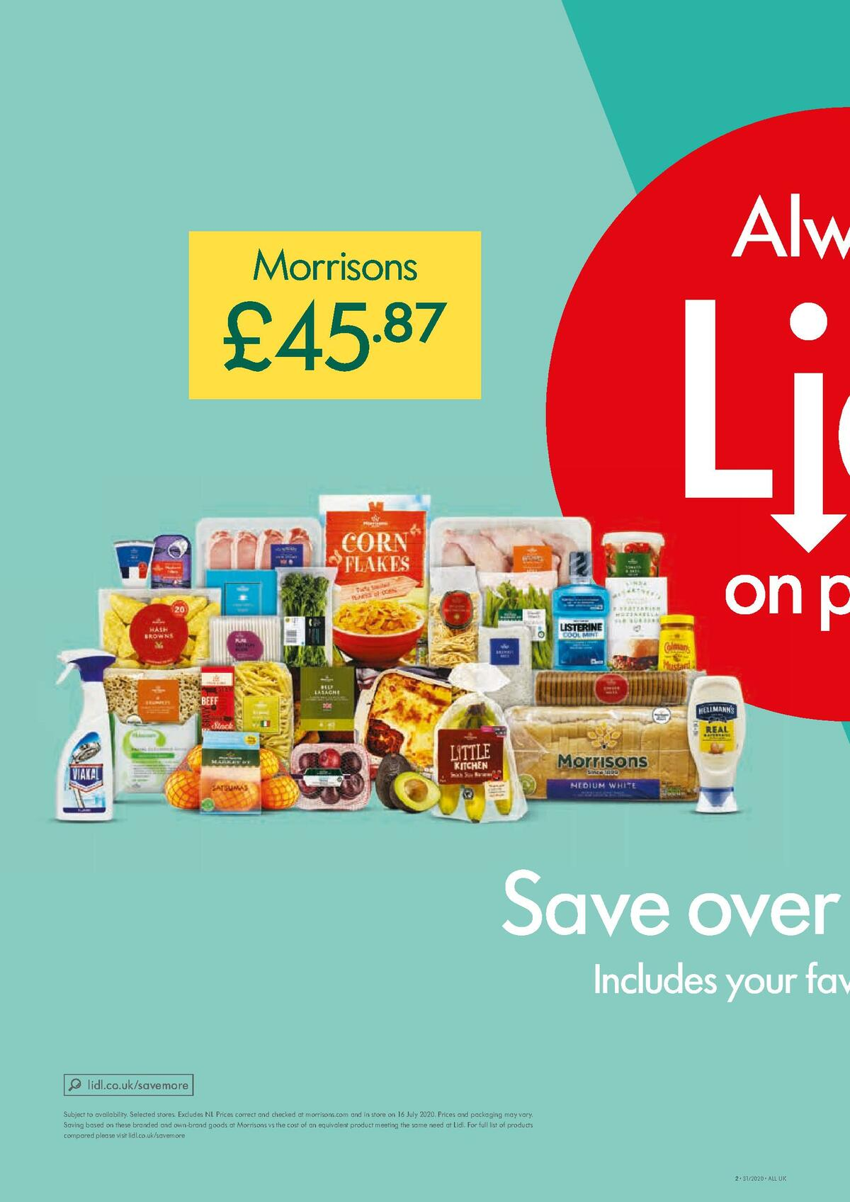 LIDL Offers from July 30