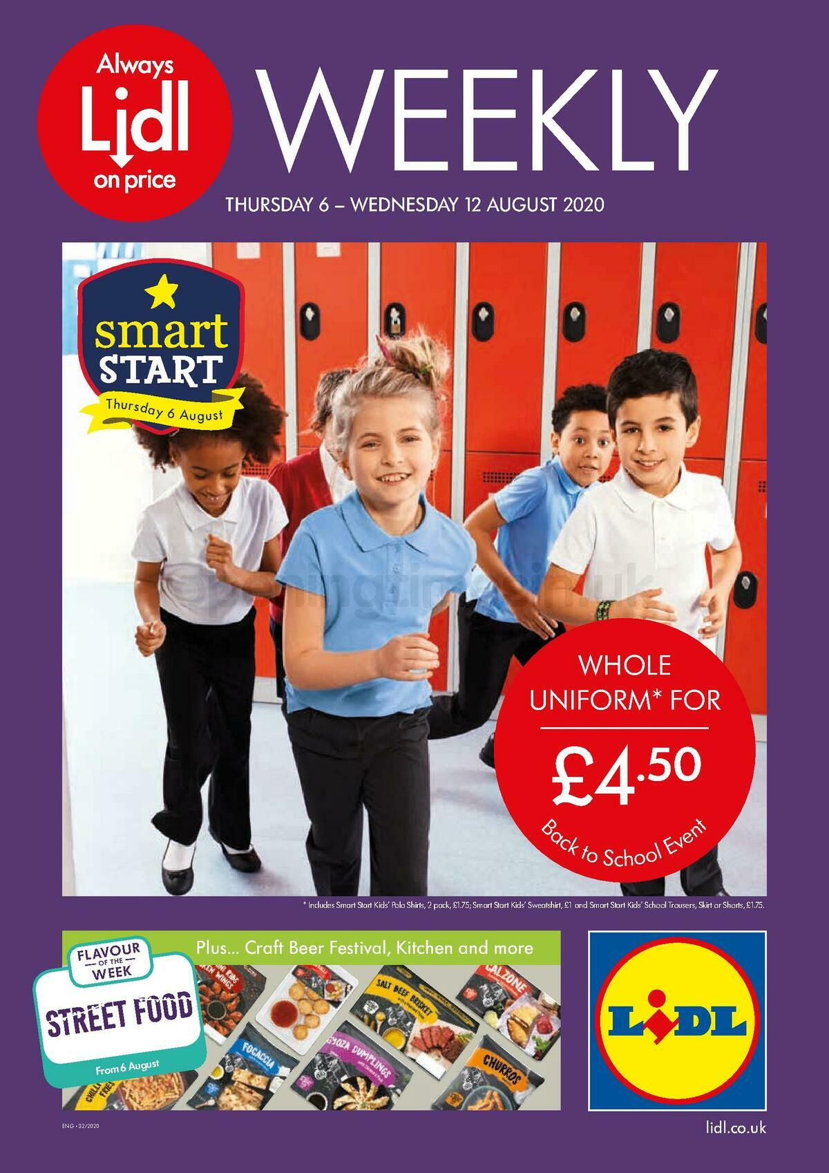 LIDL Offers from August 6
