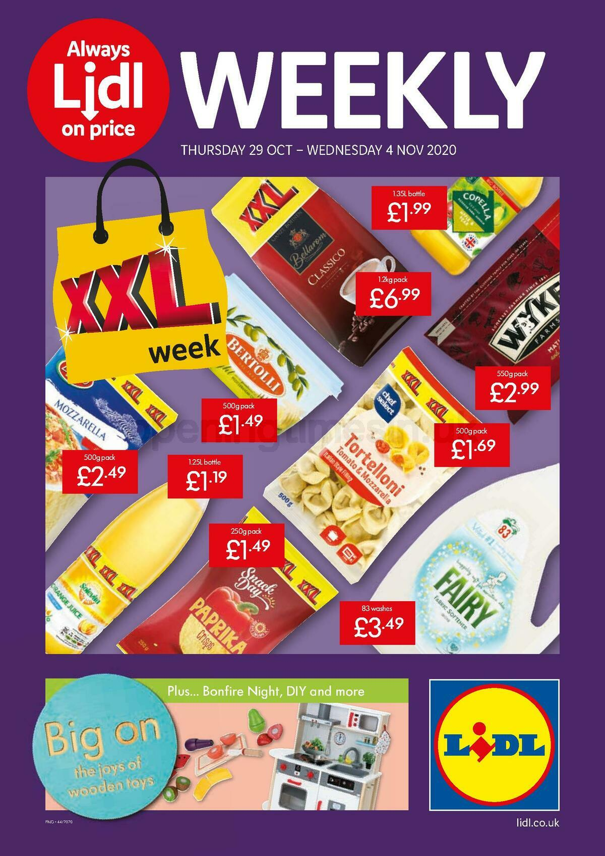 LIDL Offers from October 29