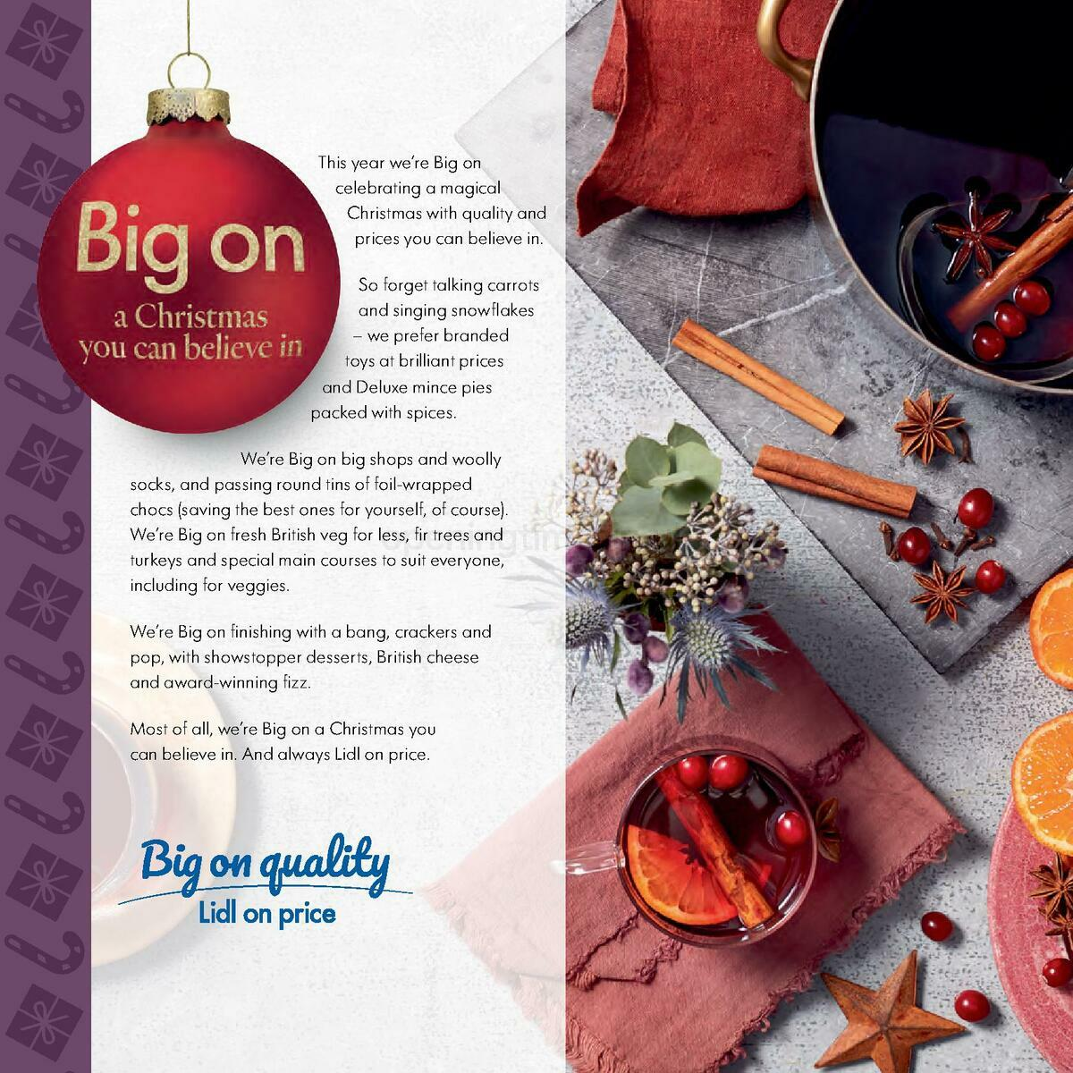 LIDL Christmas Magazine Scotland Offers from November 10