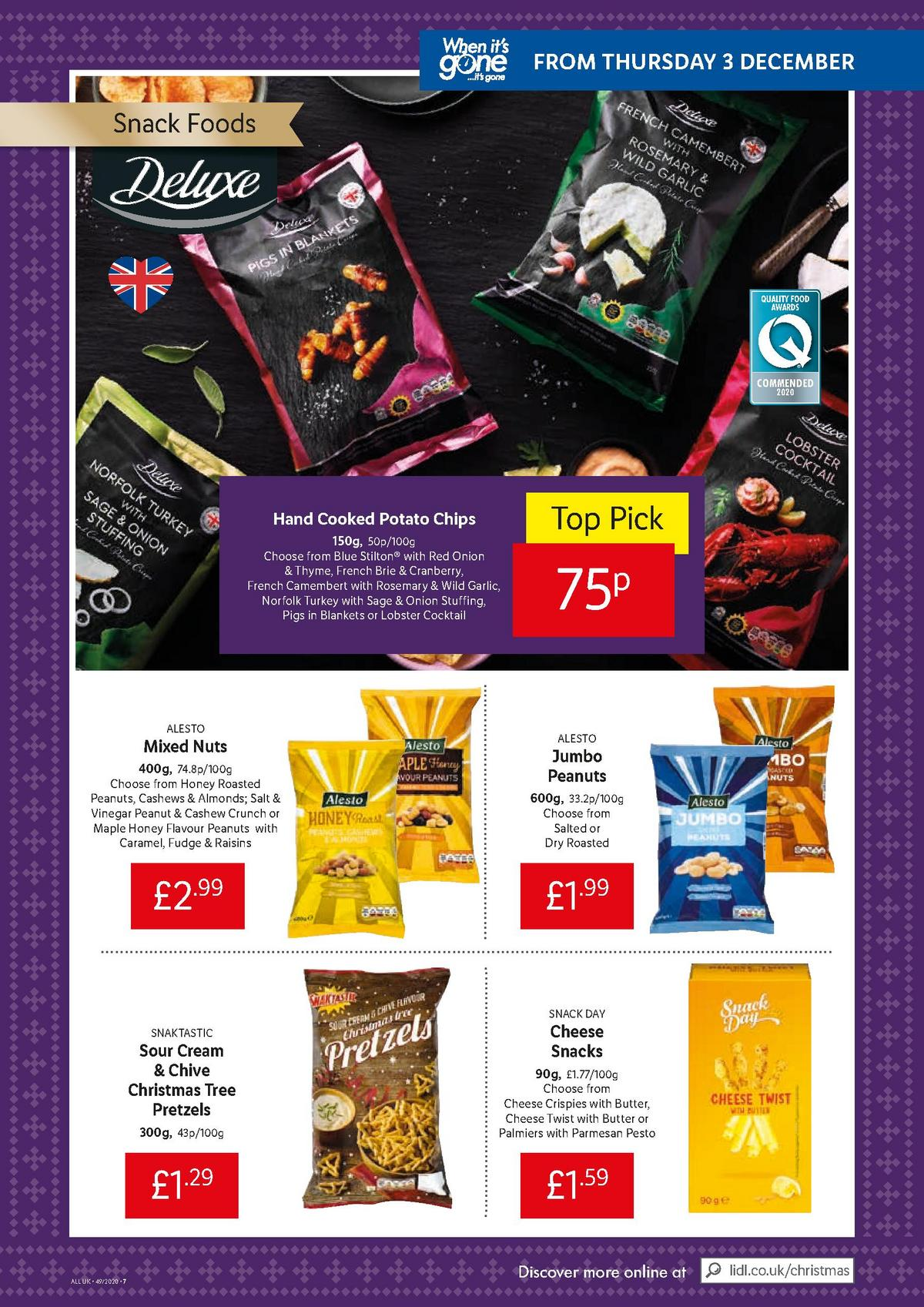 LIDL Offers from December 3