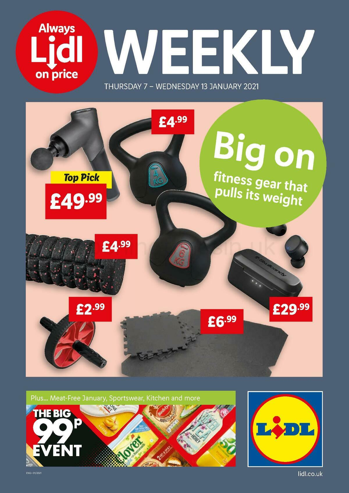 LIDL Offers from January 7