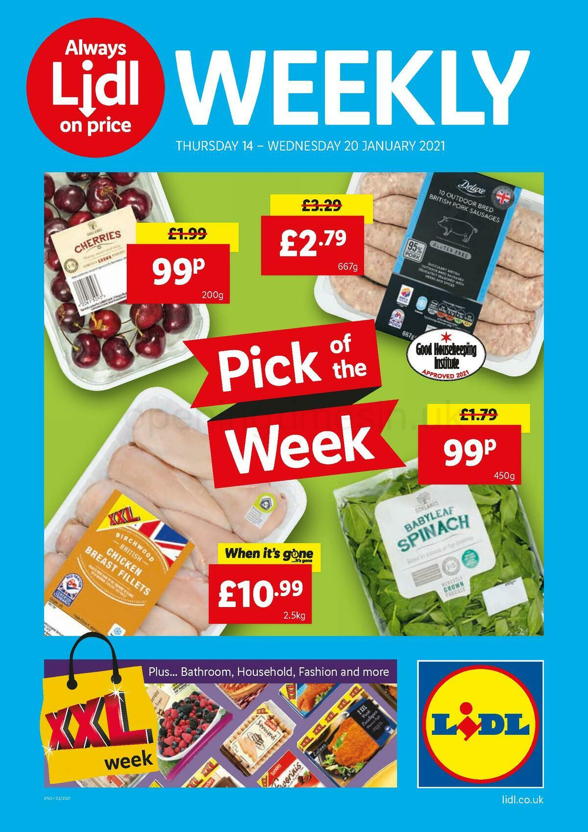 LIDL Offers from January 14