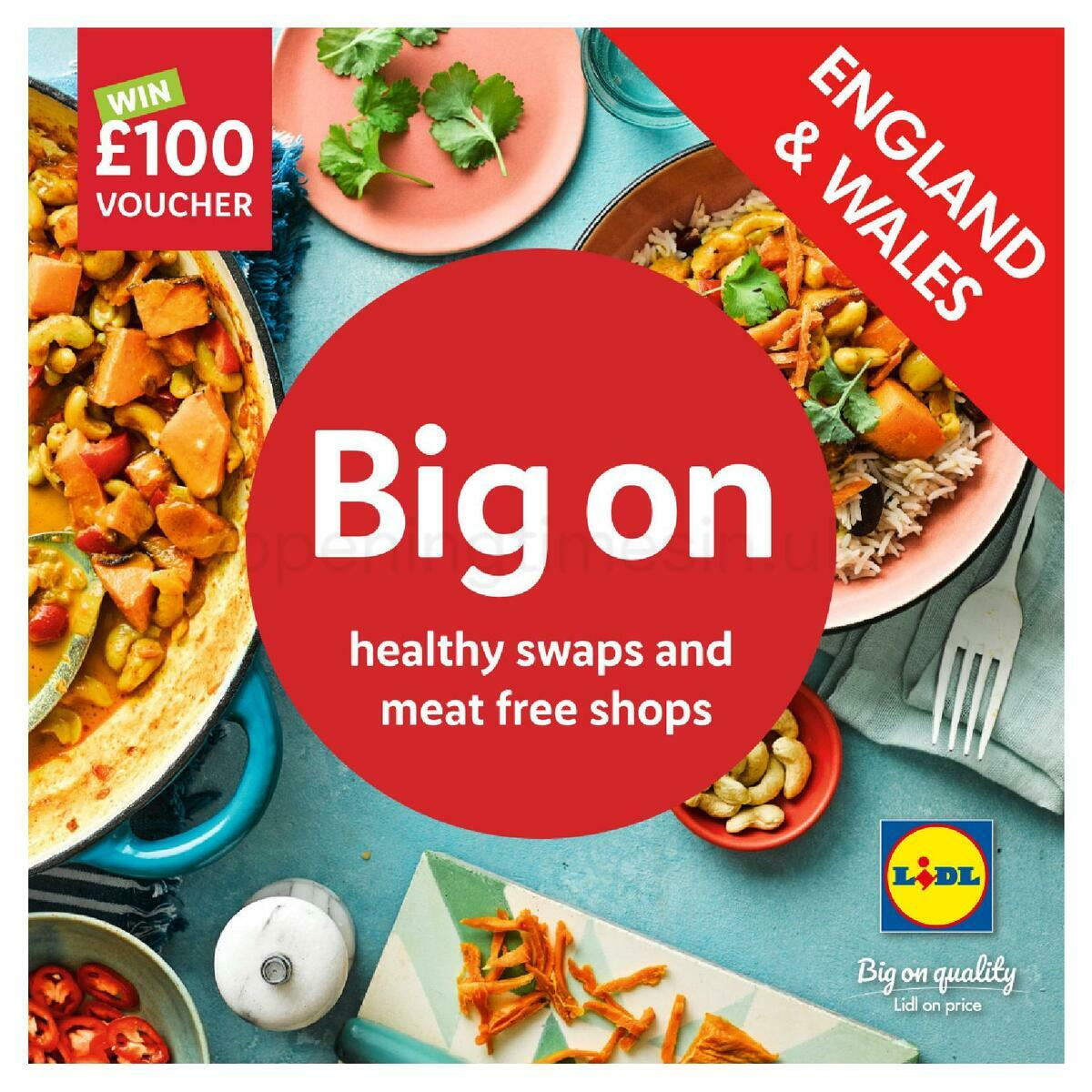 LIDL January Magazine England & Wales Offers from January 11