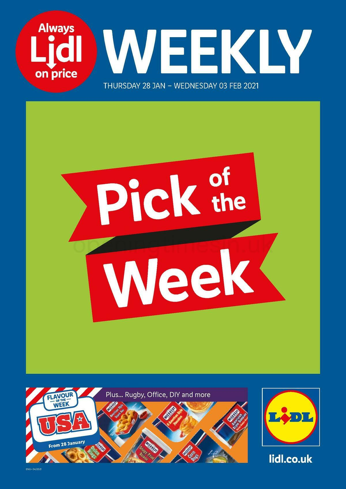 LIDL Offers from January 28