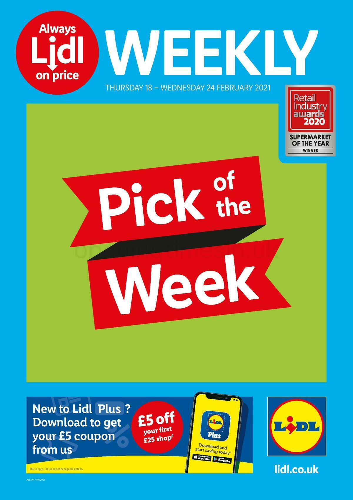 LIDL Offers from February 18