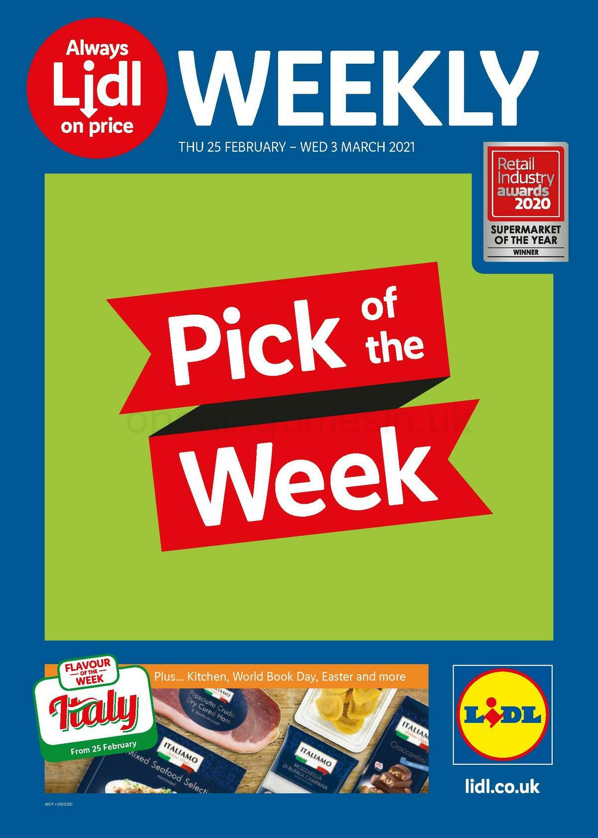 LIDL Offers from February 25