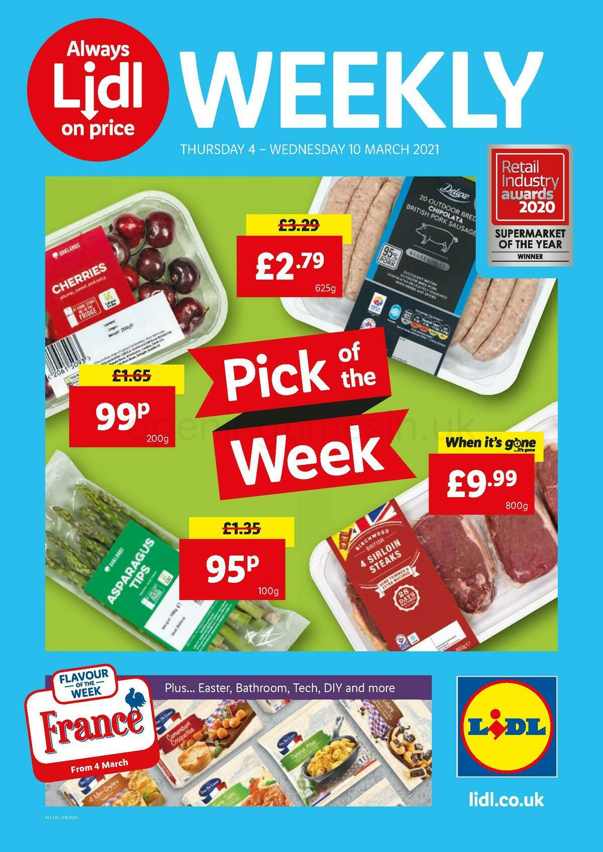 LIDL Offers from March 4