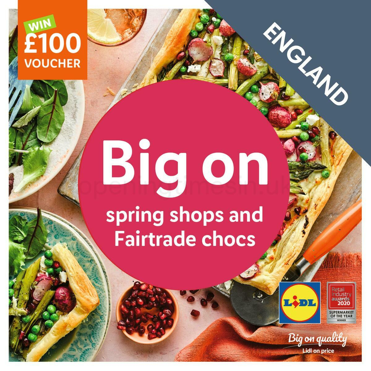 LIDL Spring Magazine Offers from March 8