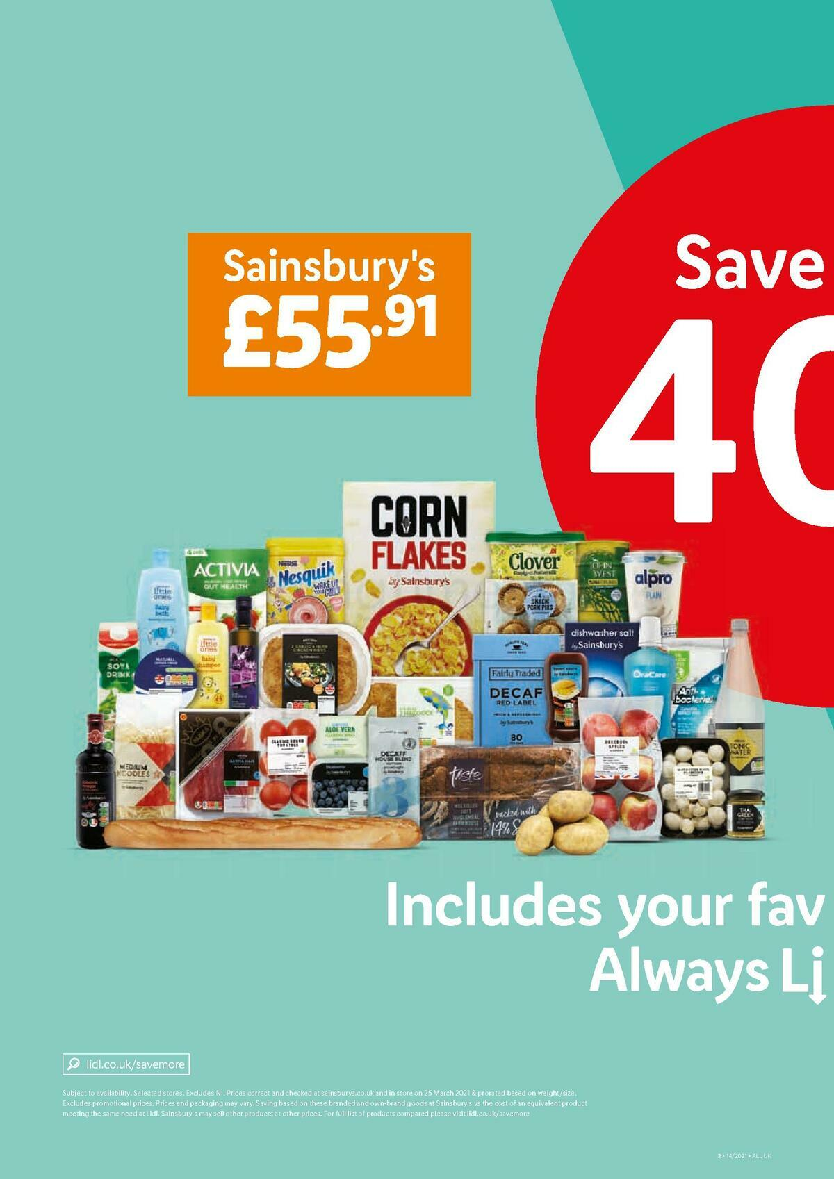LIDL Offers from April 8