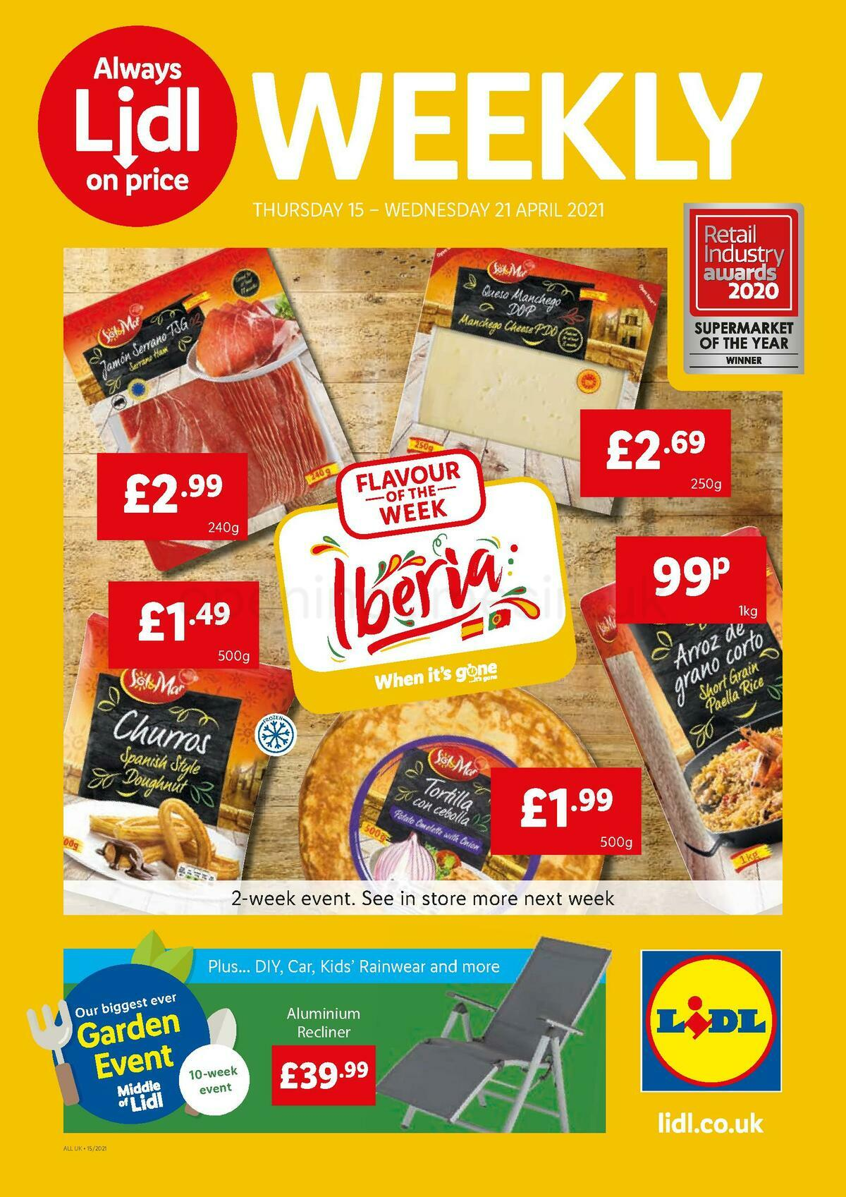 LIDL Offers from April 15