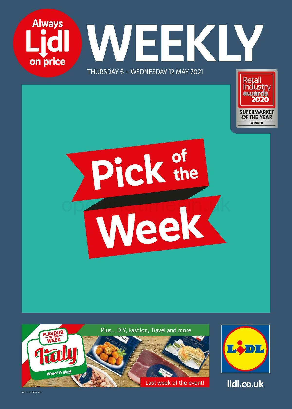 LIDL Offers from May 6