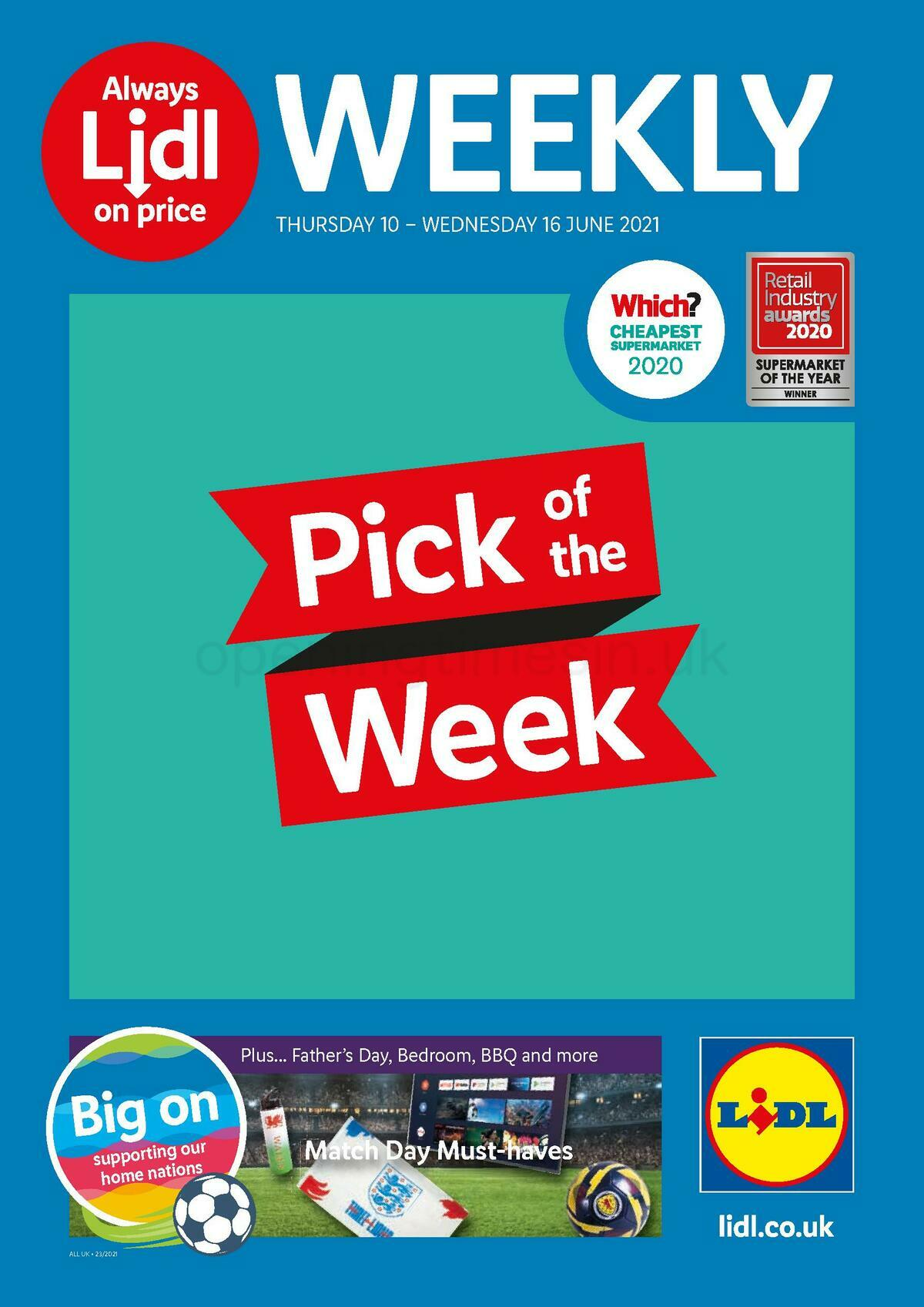 LIDL Offers from June 10