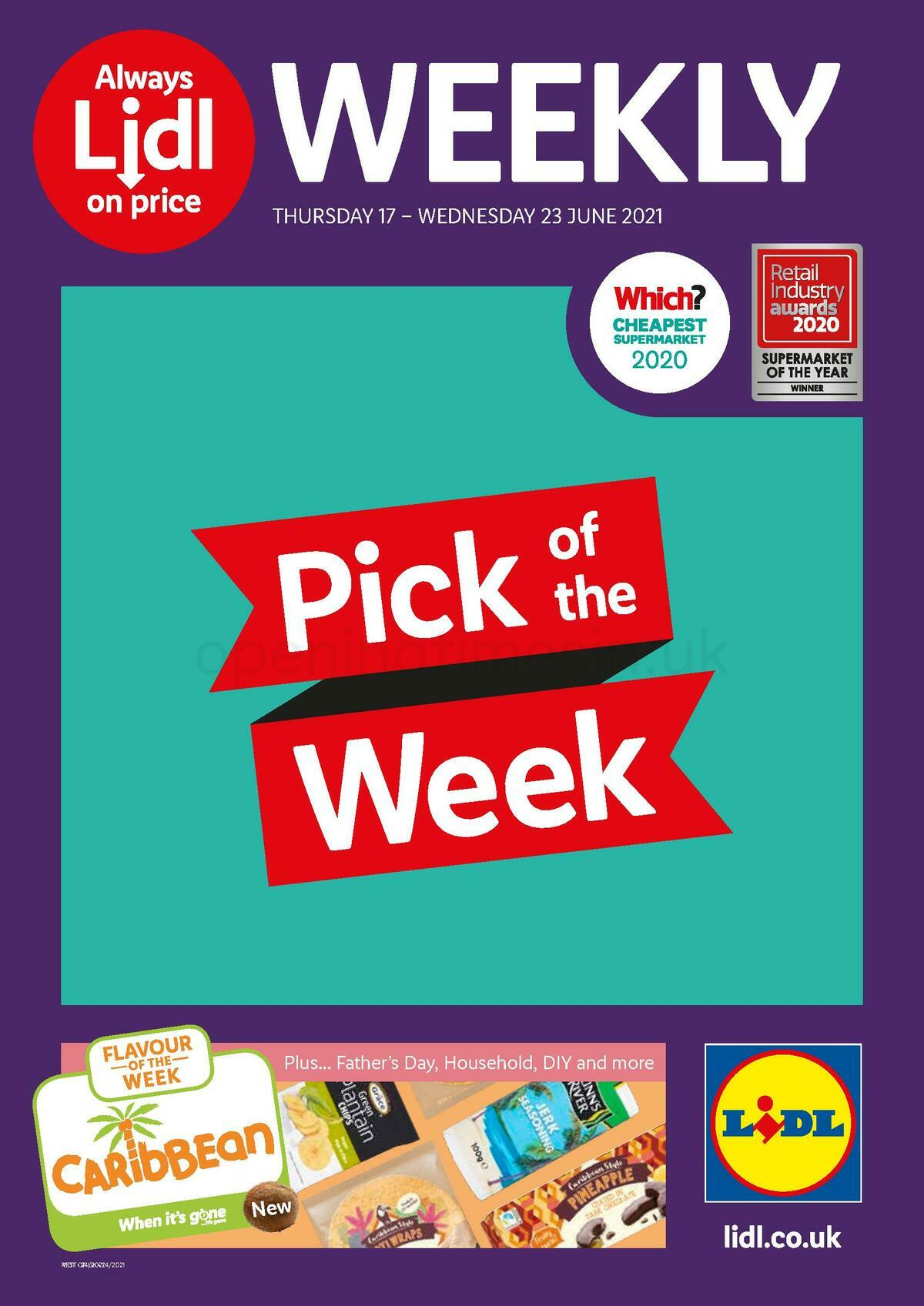 LIDL Offers from June 17