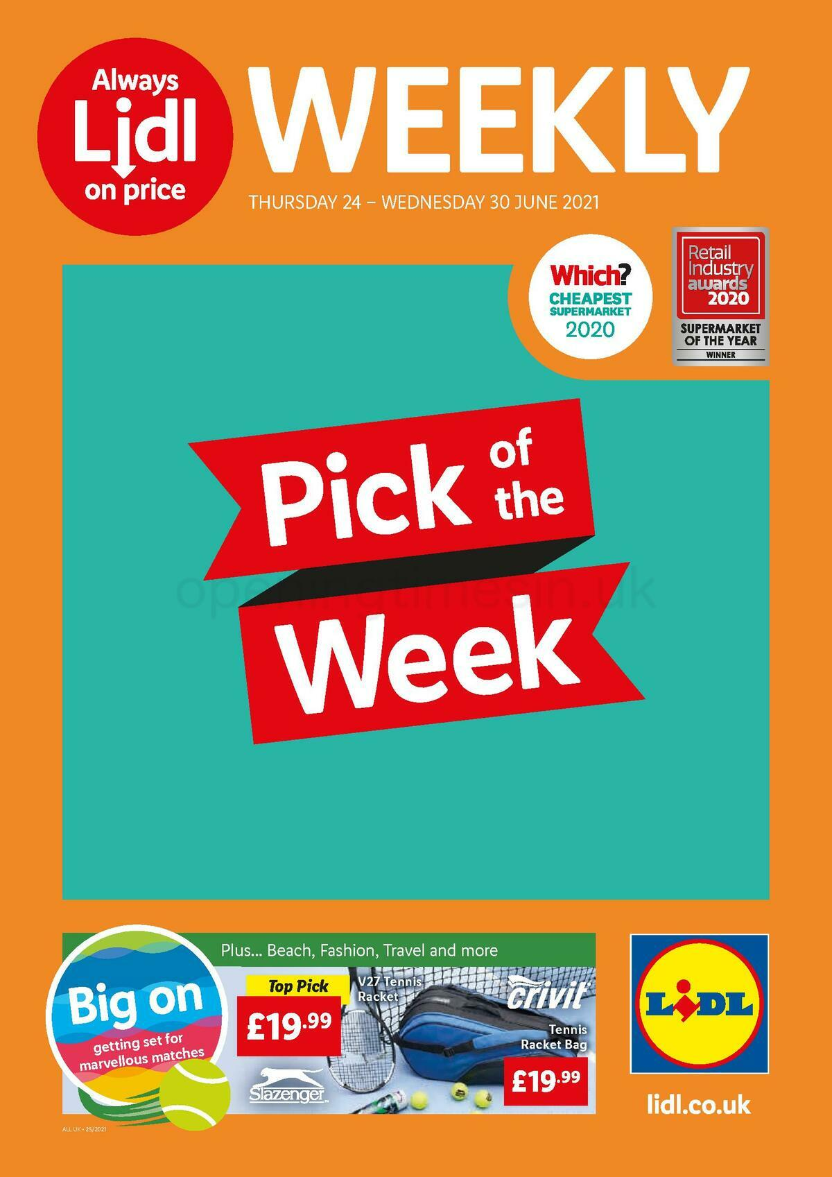 LIDL Offers from June 24