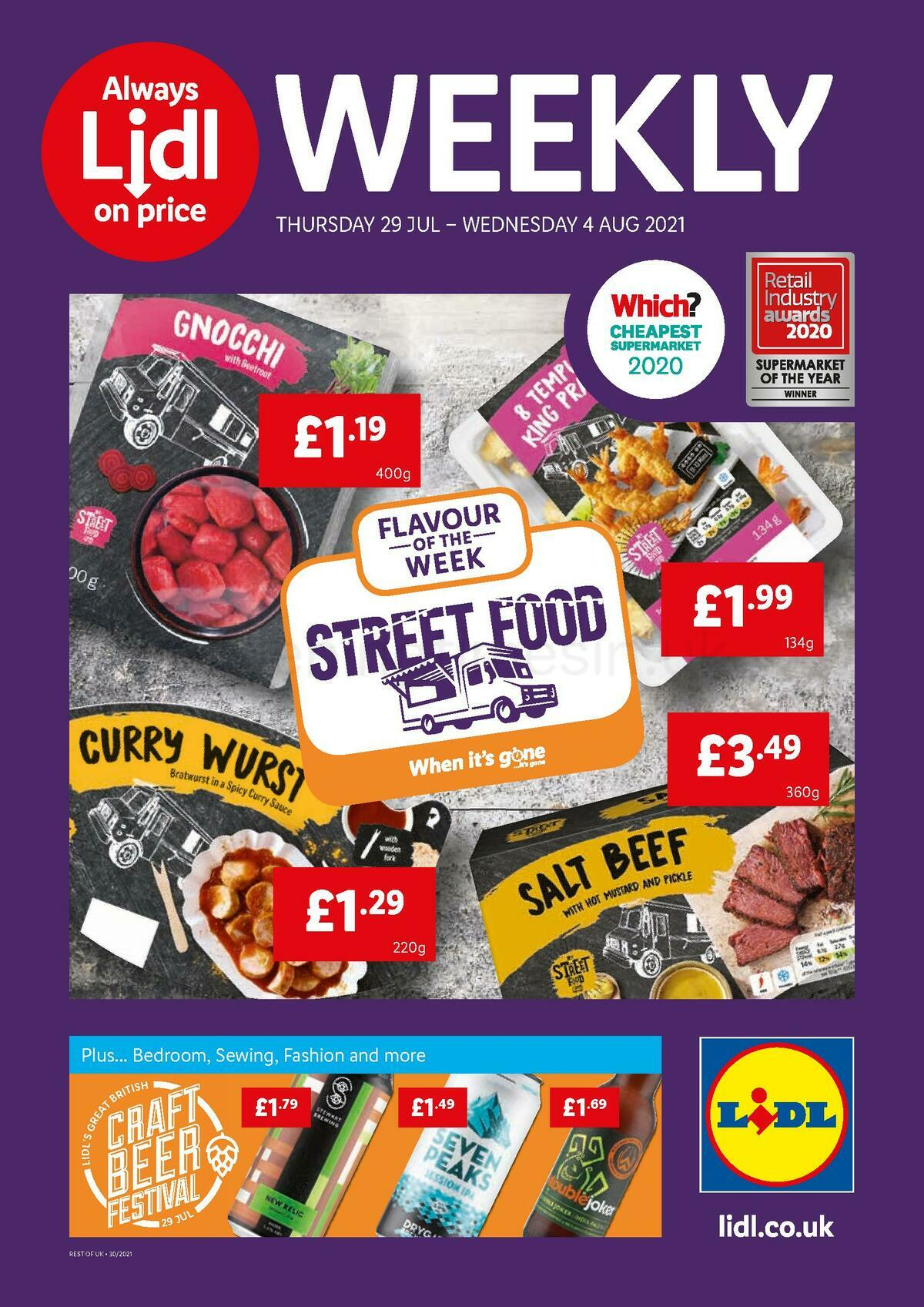 LIDL Offers from July 29