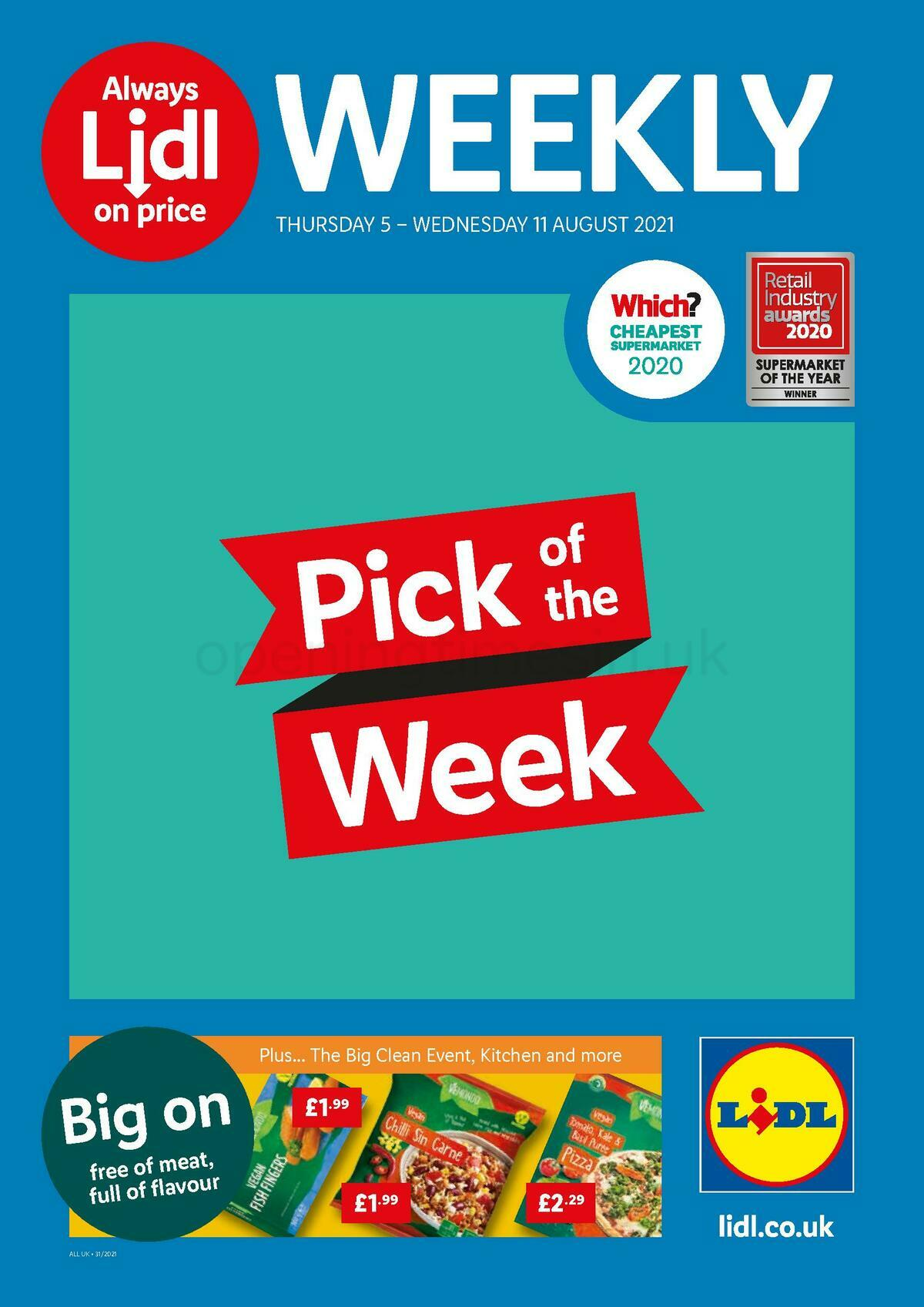 LIDL Offers from August 5