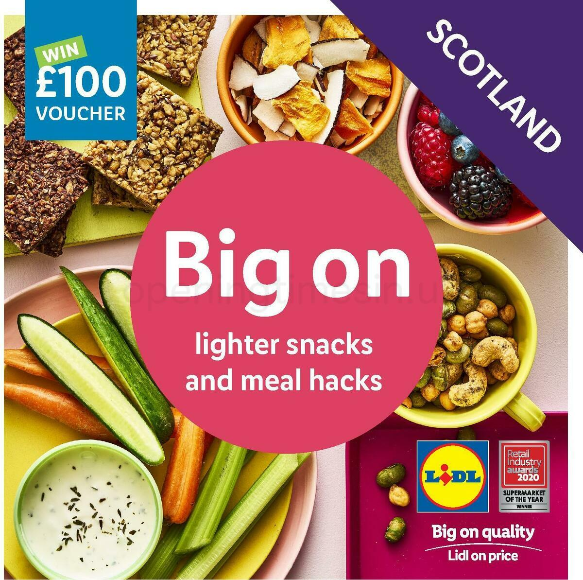 LIDL Autumn Magazine Scotland Offers from September 10