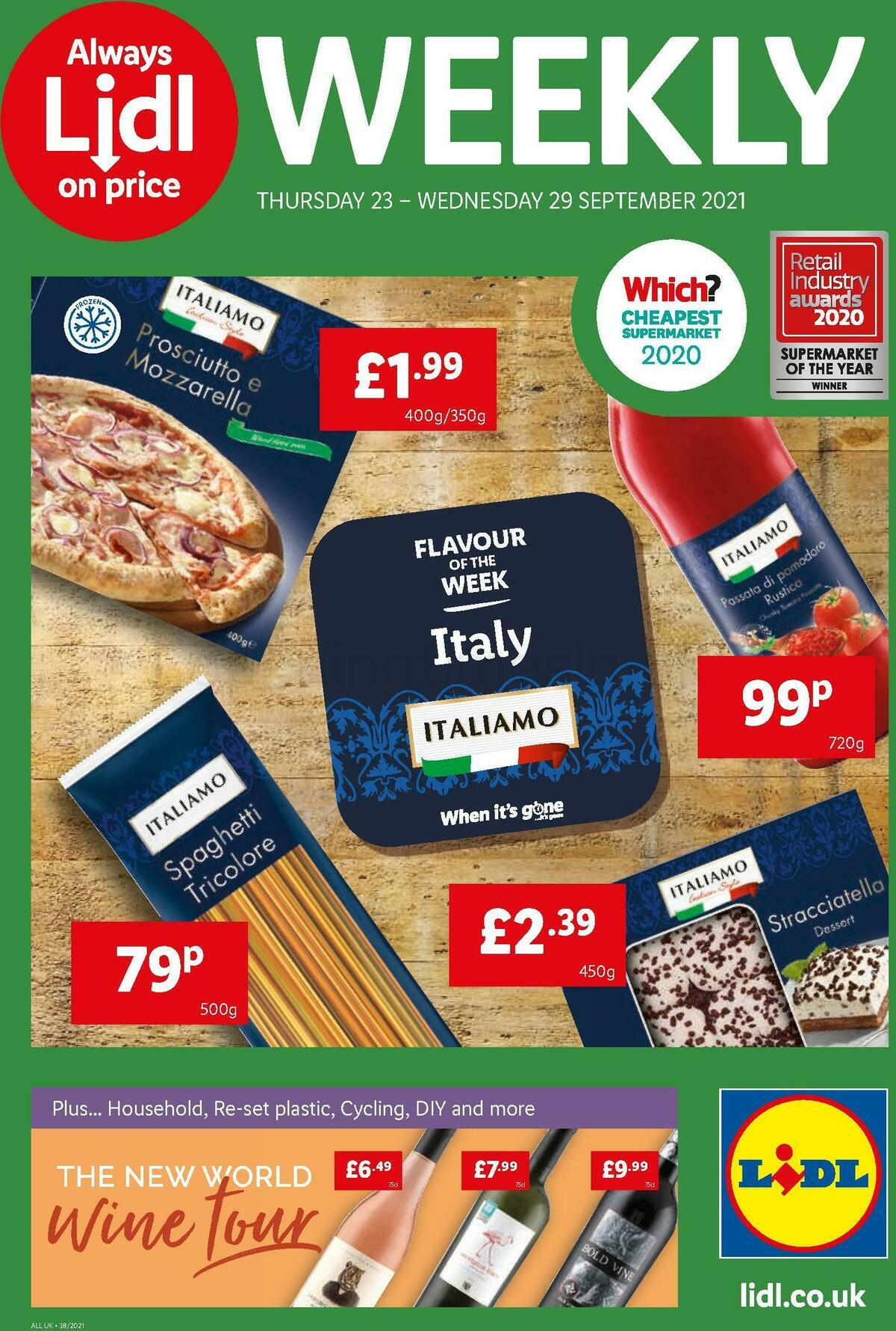 LIDL Offers from September 23