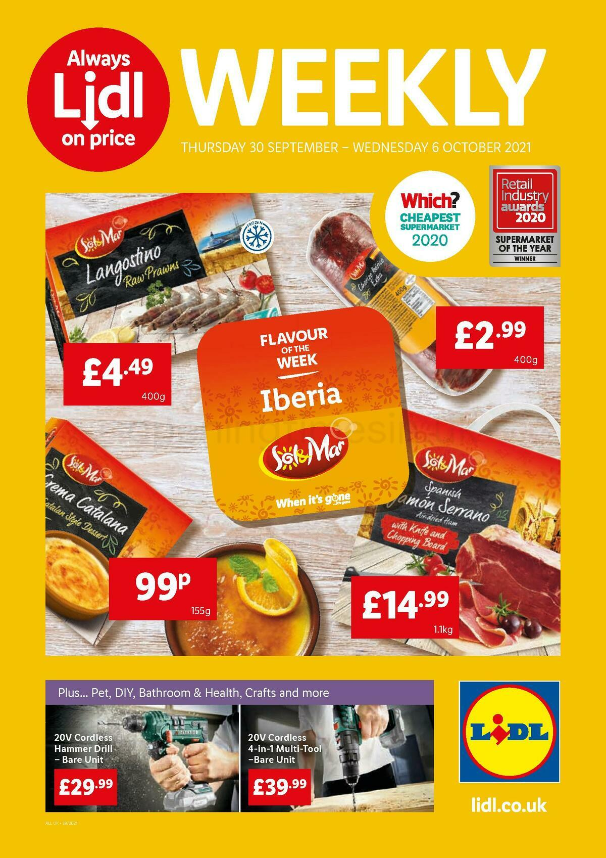 LIDL Offers from September 30
