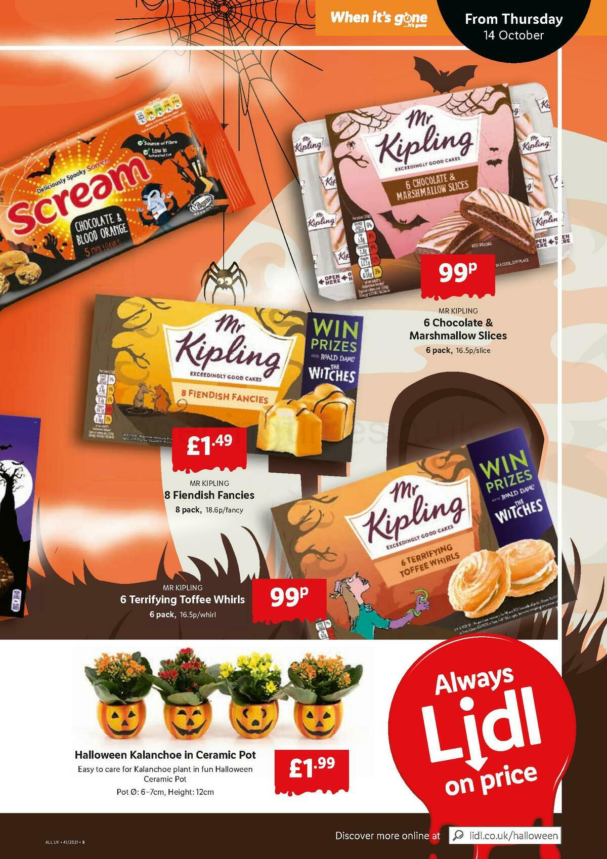 LIDL Offers from October 14