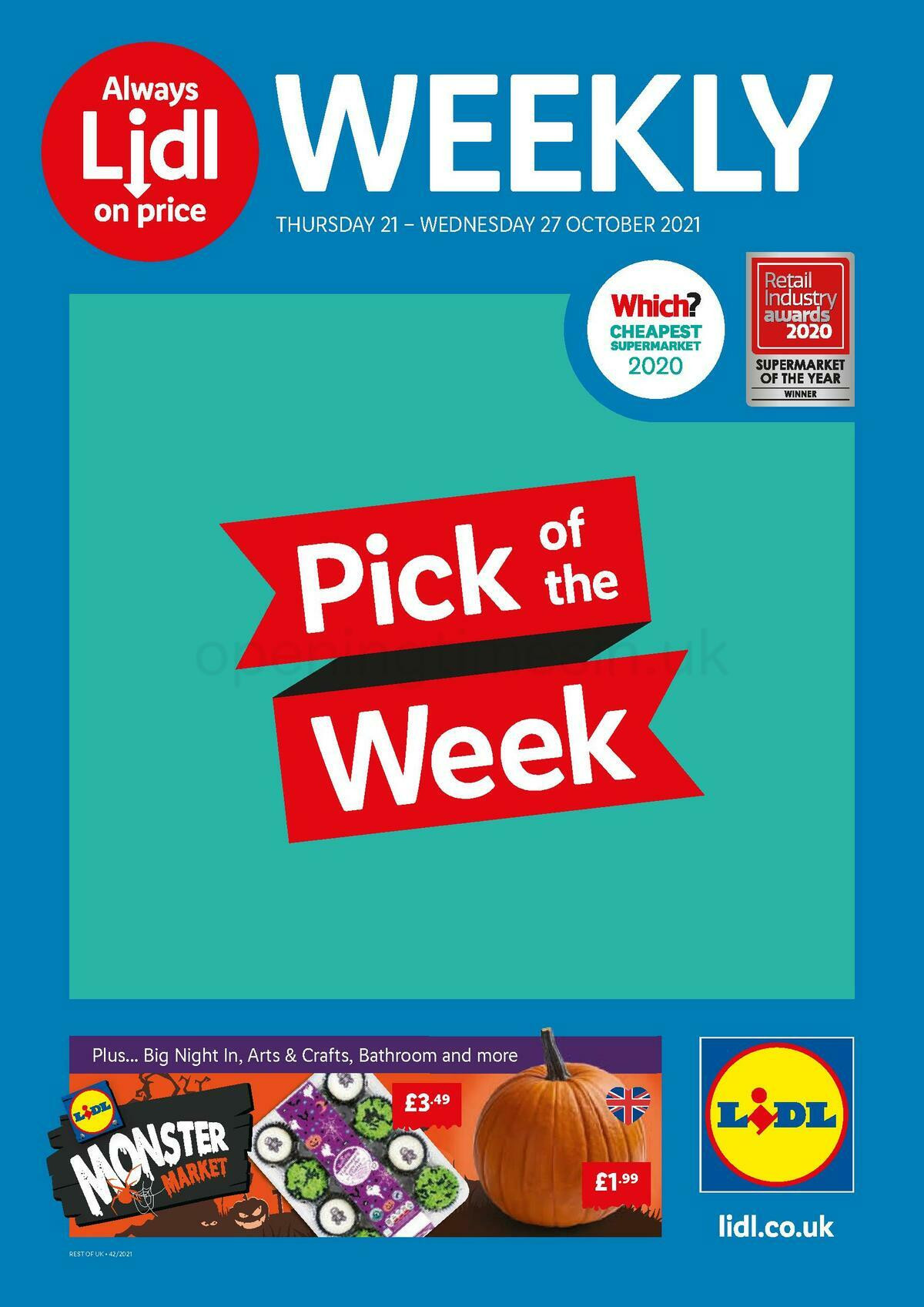 LIDL Offers from October 21