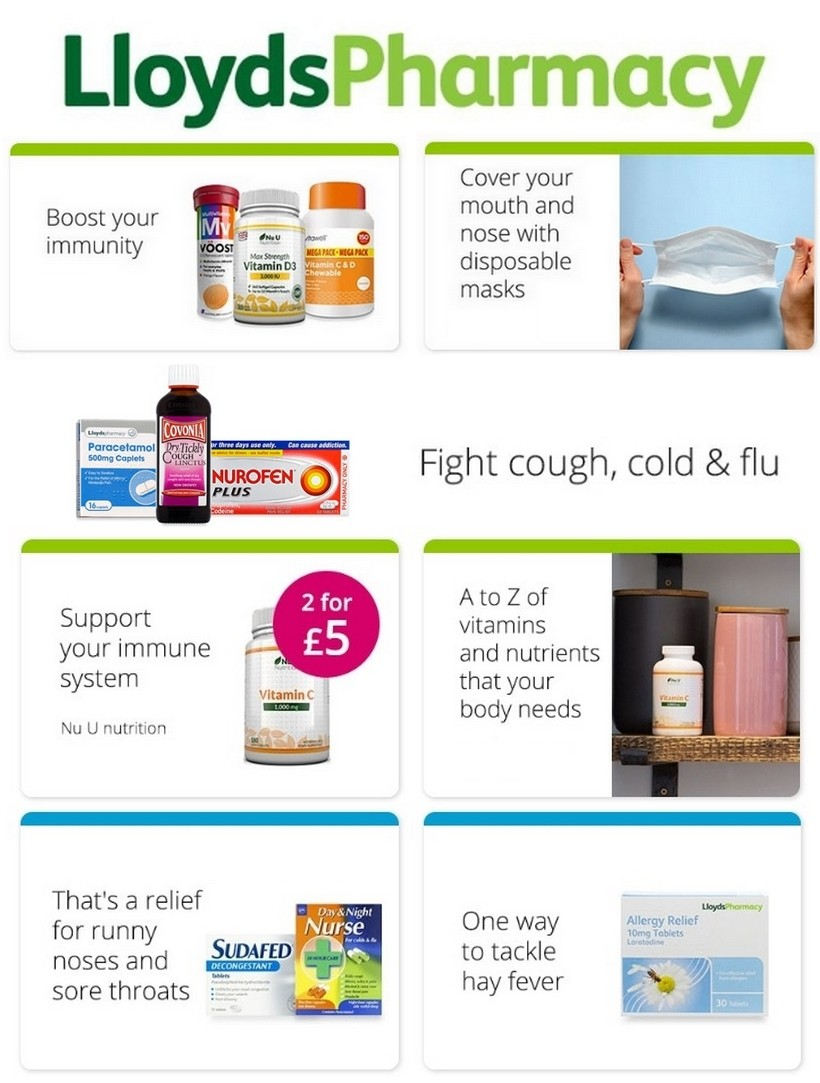 Lloyds Pharmacy Offers from May 21