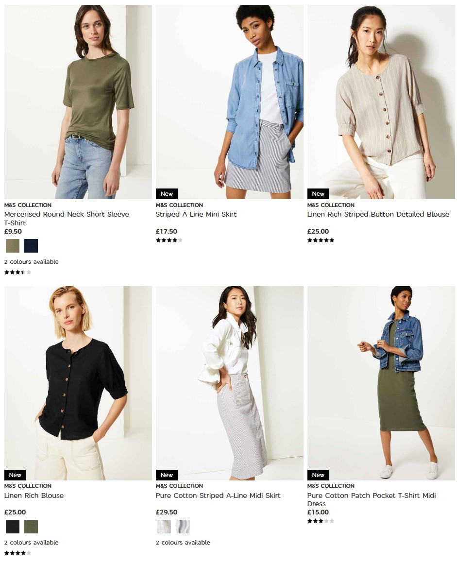 M&S Marks and Spencer Offers from May 28