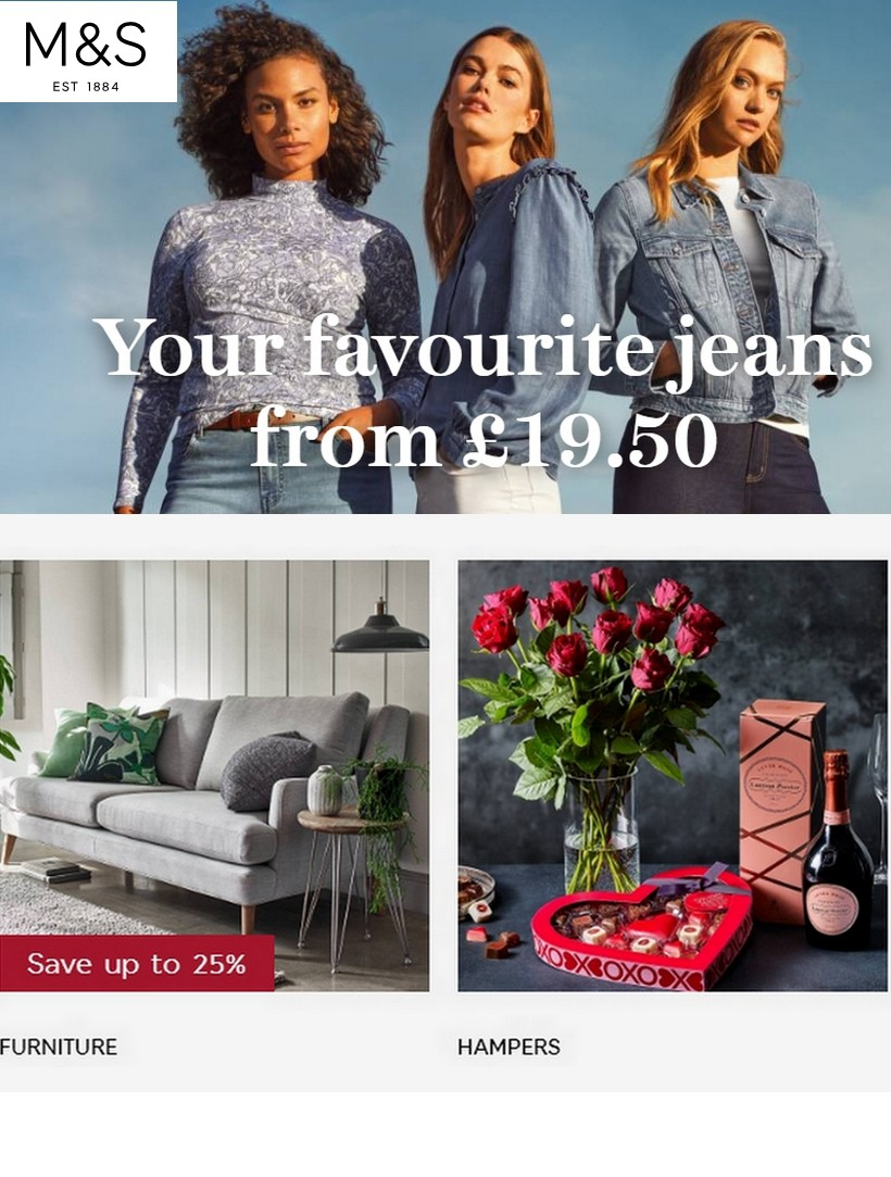 M&S Marks and Spencer Offers from February 11
