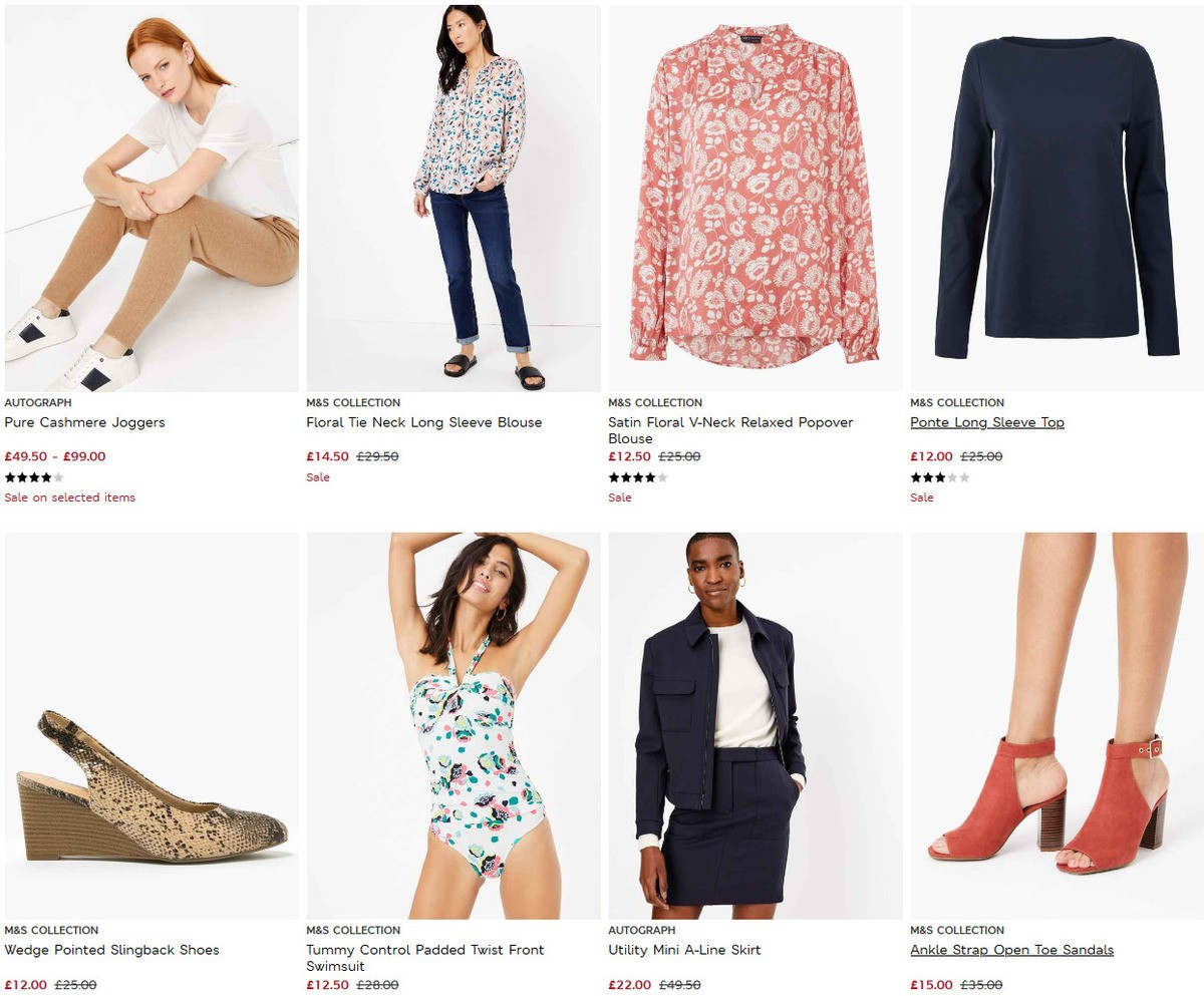 M&S Marks and Spencer Offers from June 30