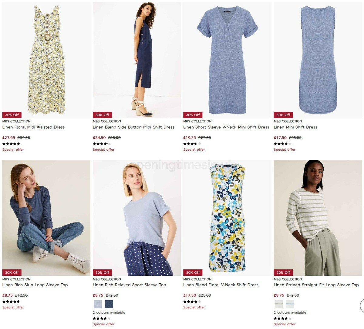 M&S Marks and Spencer Offers from September 8