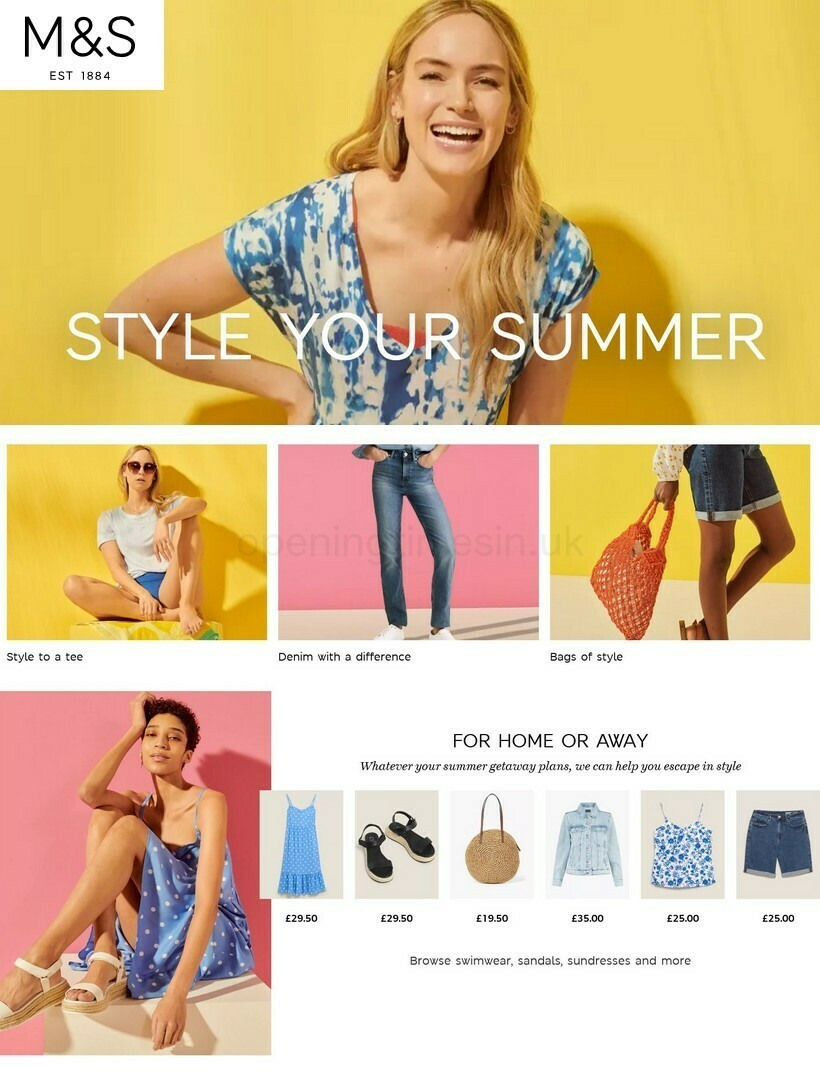M&S Marks and Spencer Offers from July 12