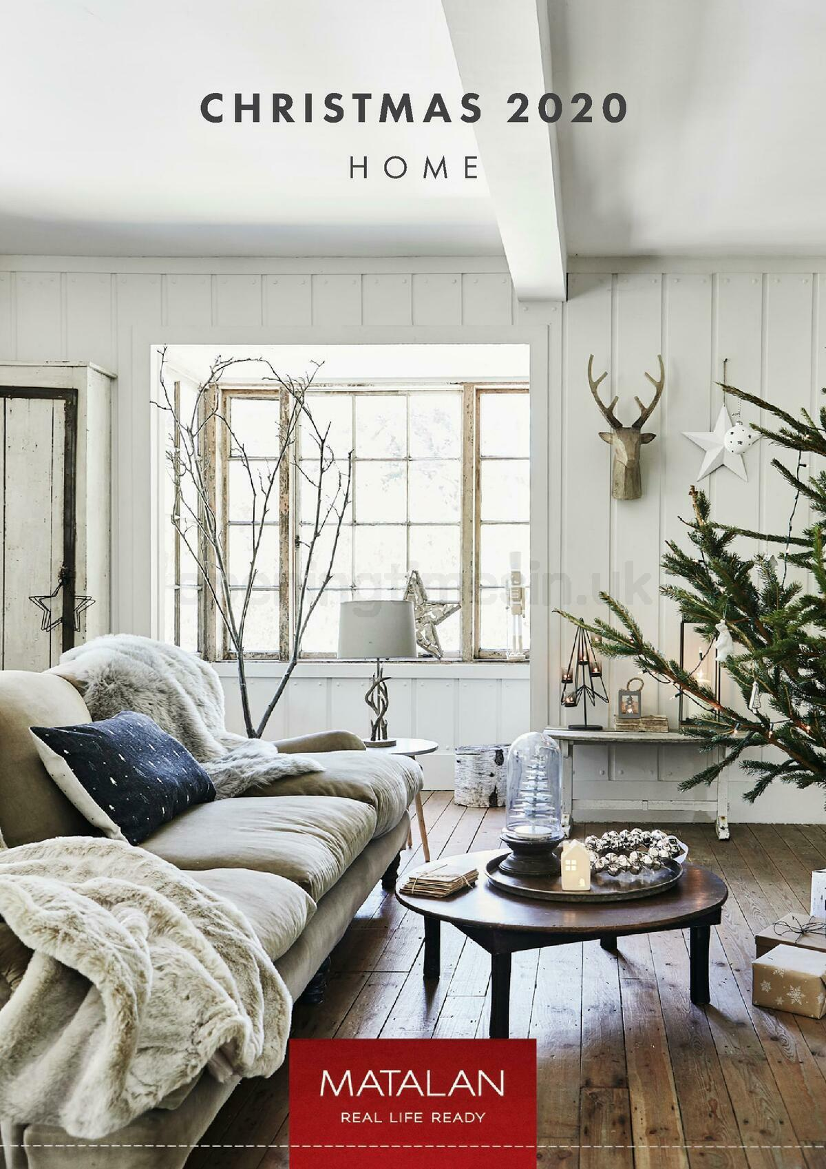 Matalan Christmas Home 2020 Offers from October 1