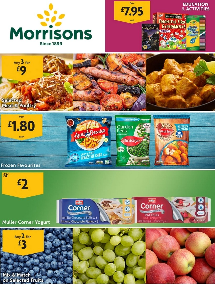 Morrisons Offers from March 24
