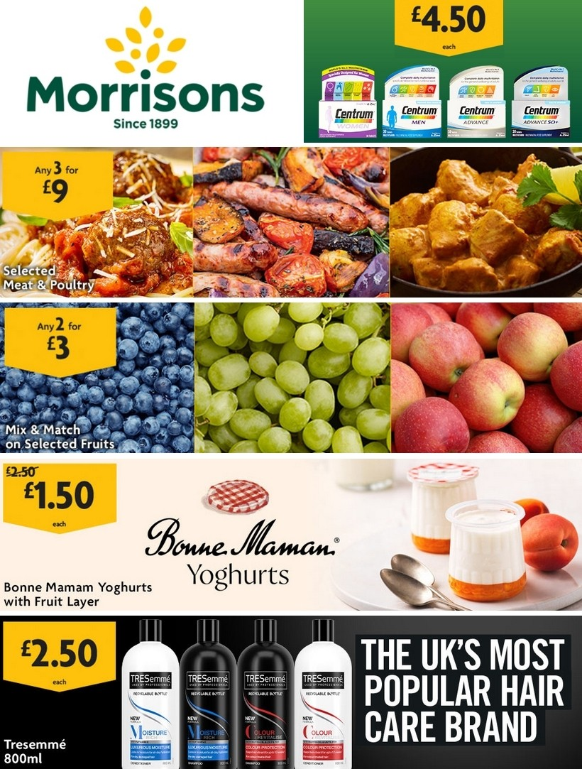 Morrisons Offers from May 19