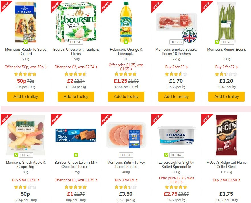 Morrisons Offers from June 30