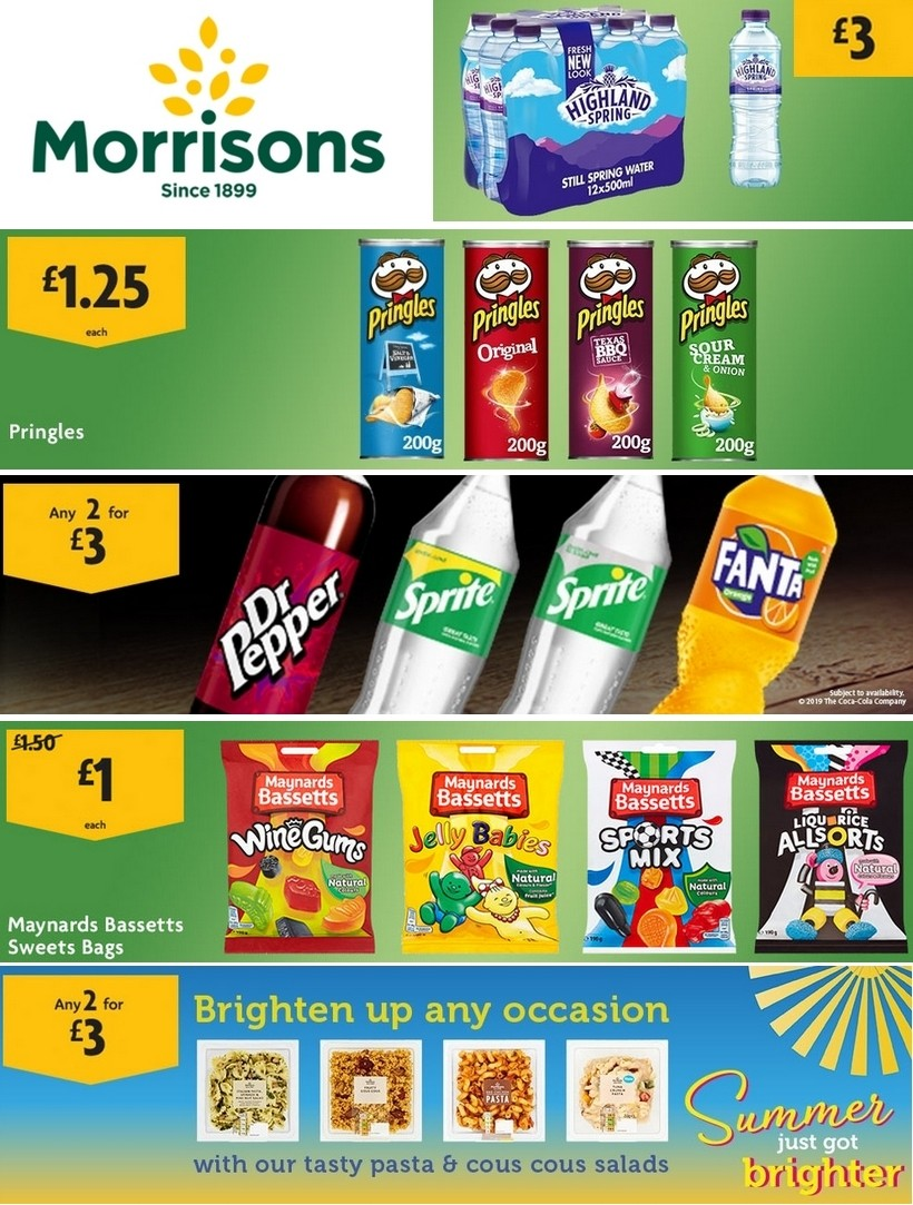 Morrisons Offers from July 7