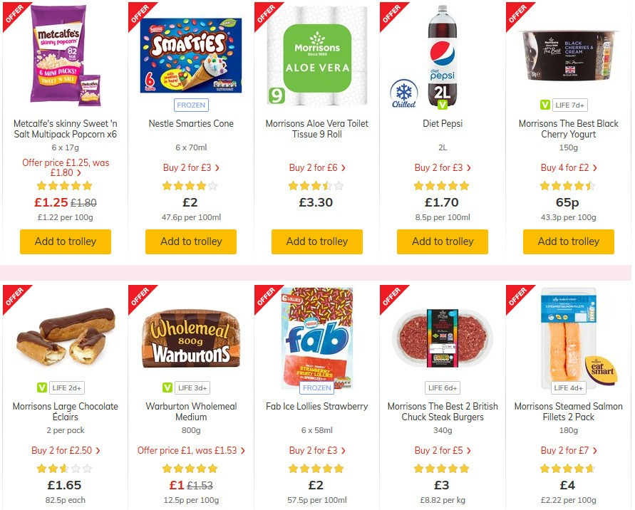 Morrisons Offers from July 28